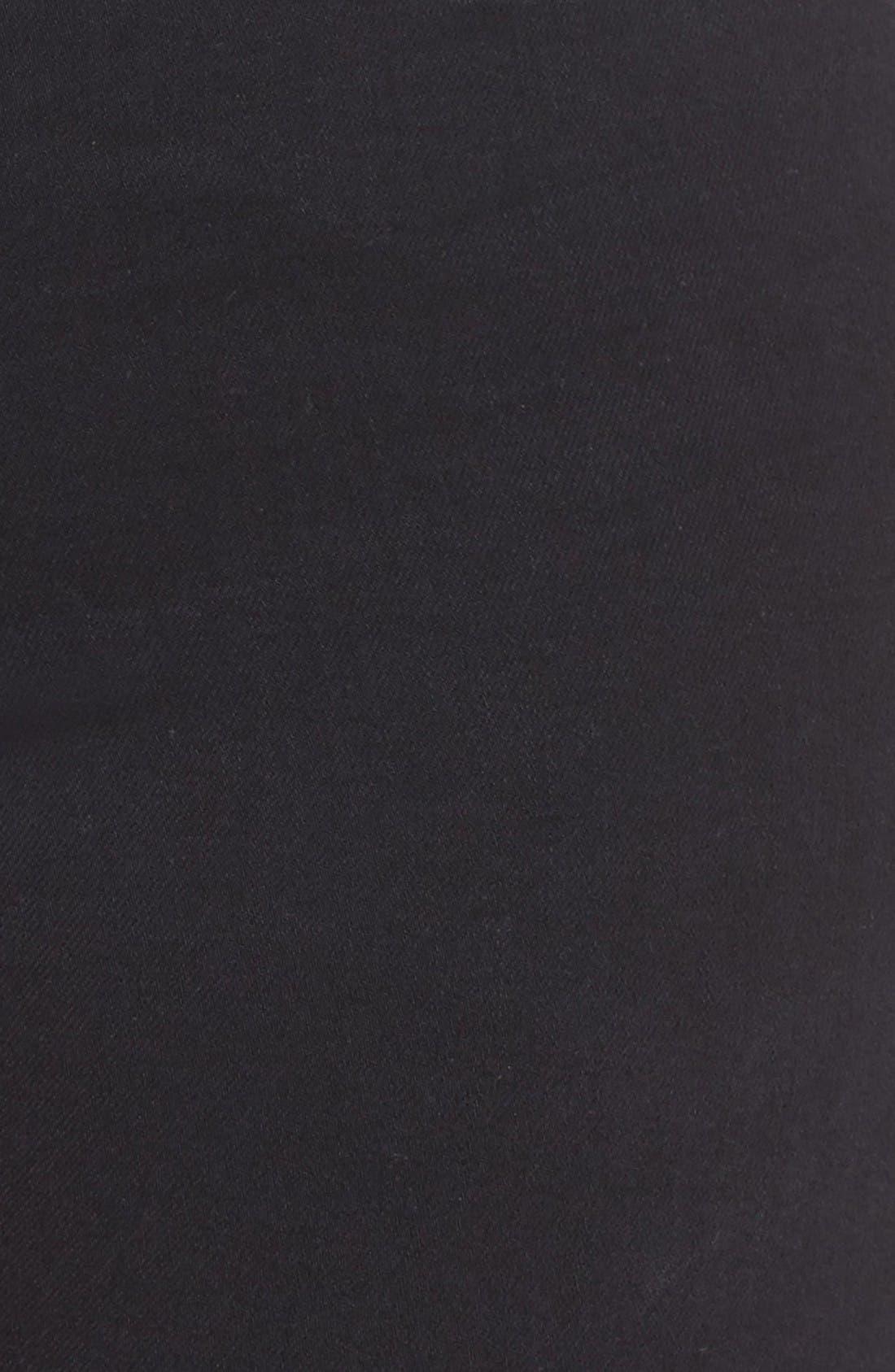 Good Waist High Rise Skinny Jeans,                             Alternate thumbnail 11, color,                             Black 004
