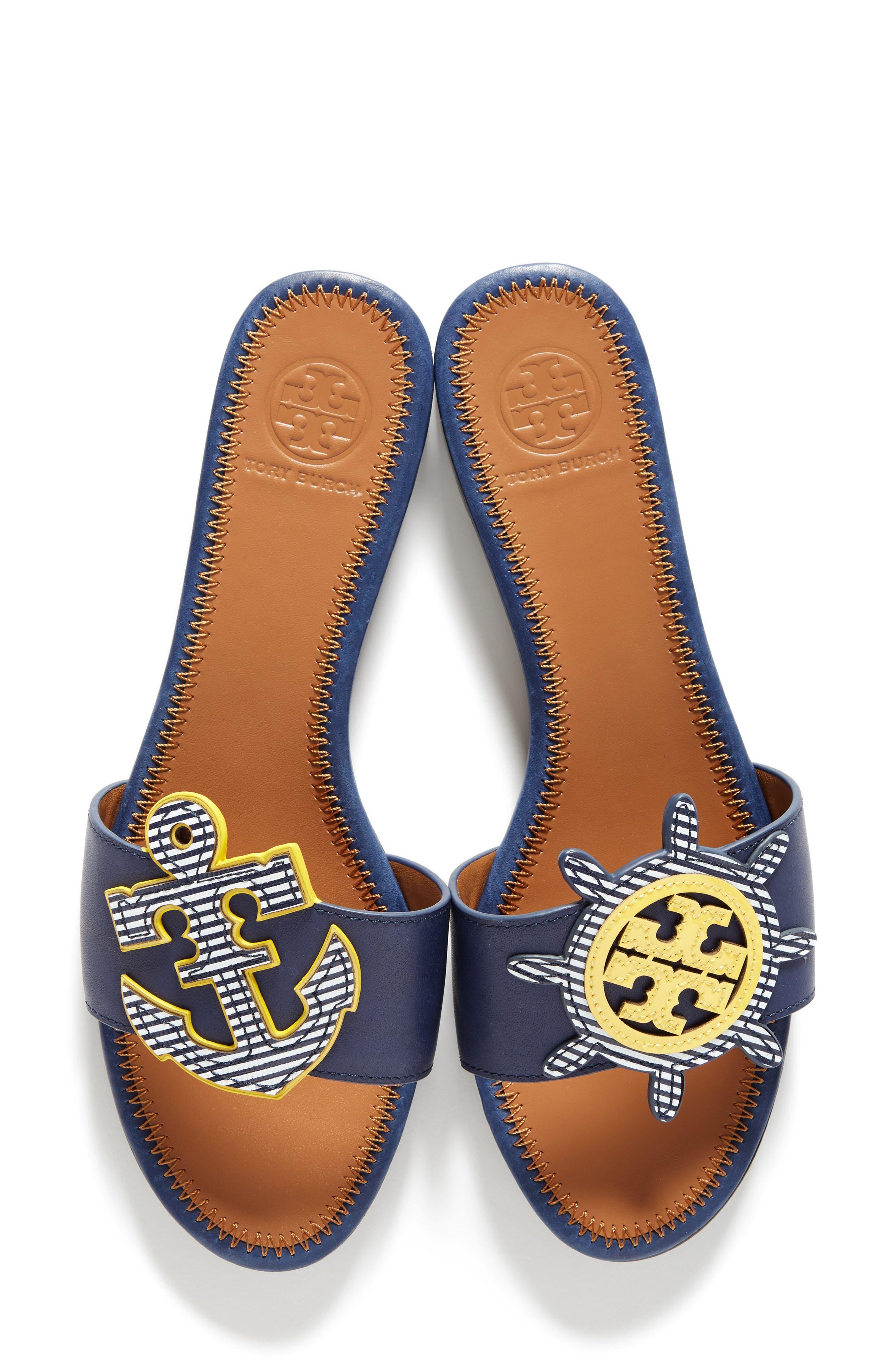 Alternate Image 1 Selected - Tory Burch Maritime Slide Sandal (Women)