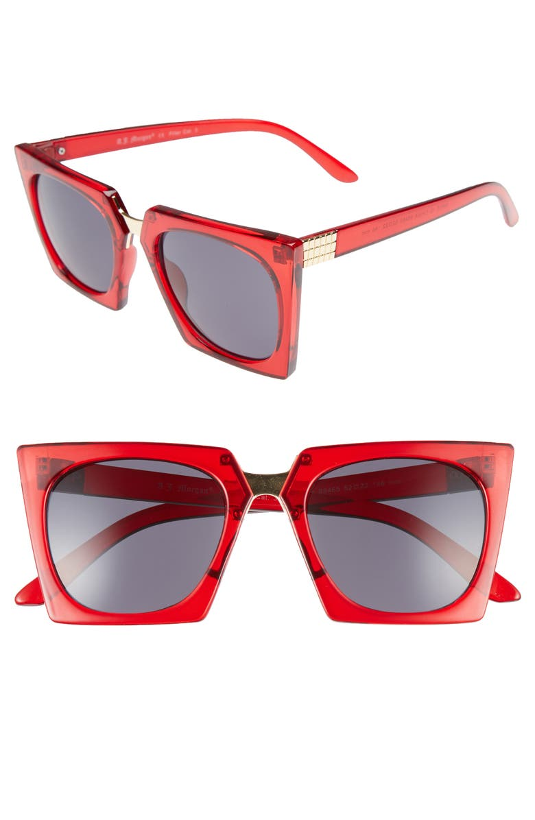 b07b49afc0e A.J. Morgan Cropduster 52mm Sunglasses