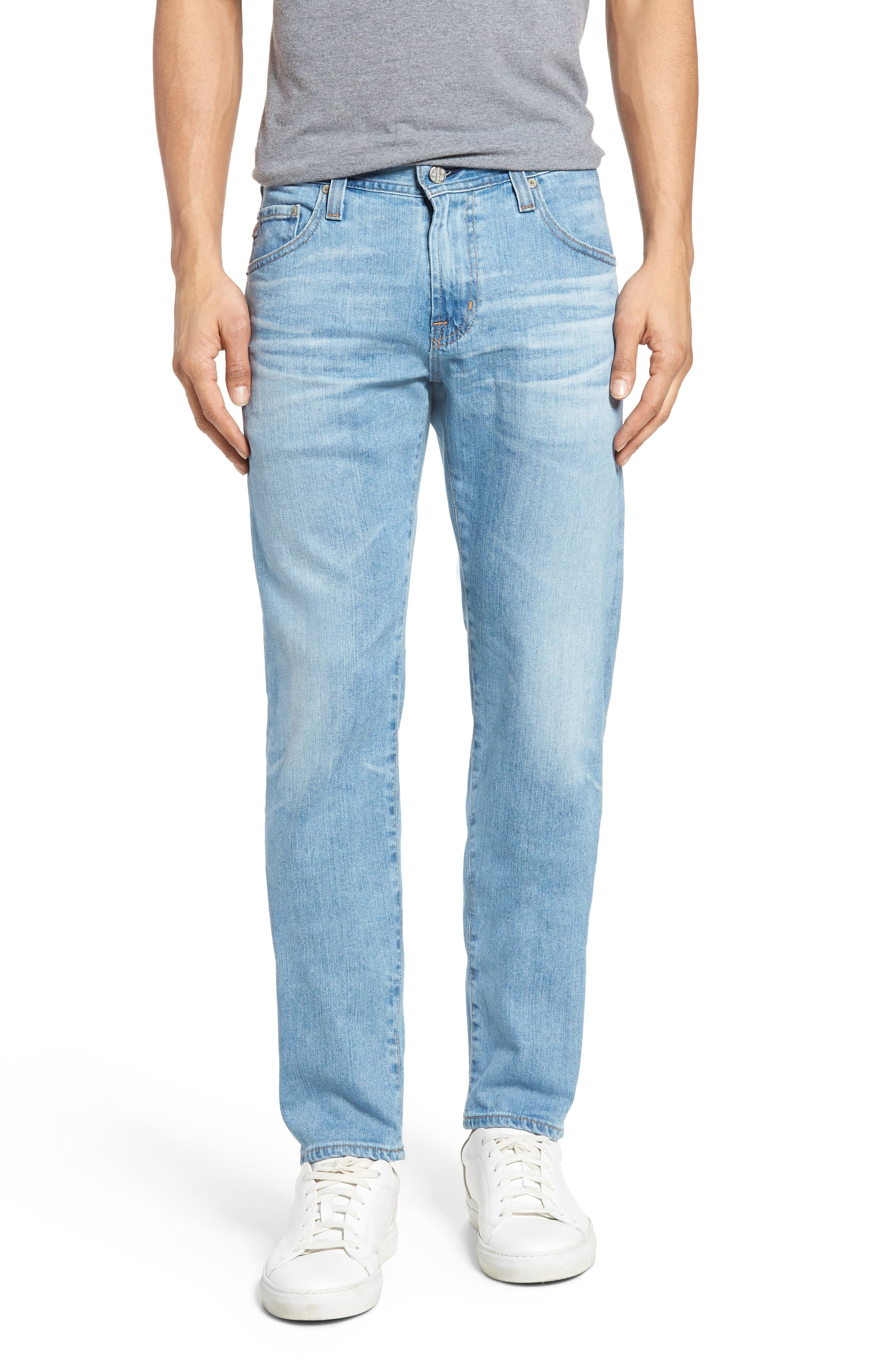 Main Image - AG Tellis Slim Fit Jeans (24 Years Novel)