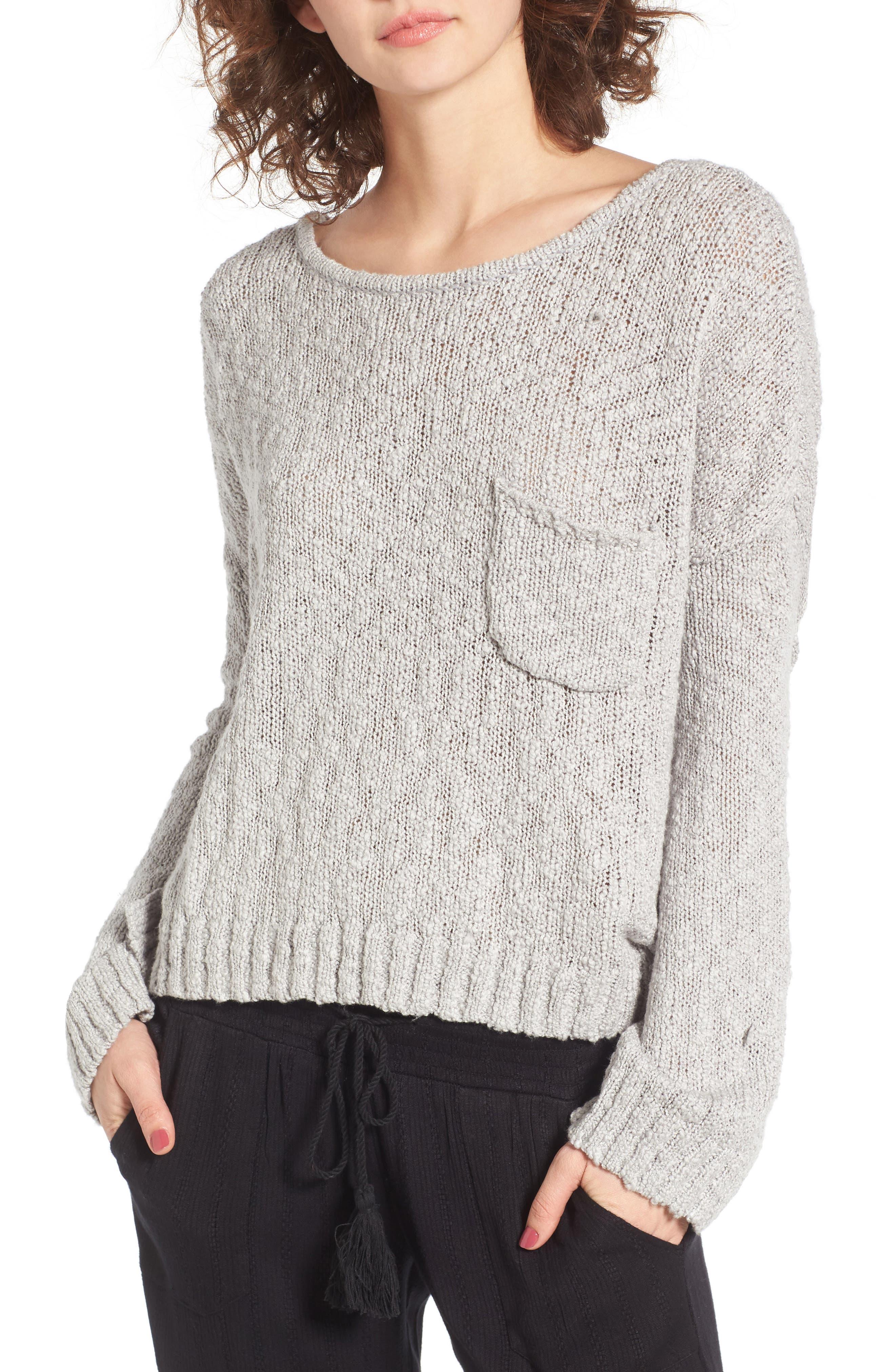 Main Image - Roxy Don't Think Twice Sweater