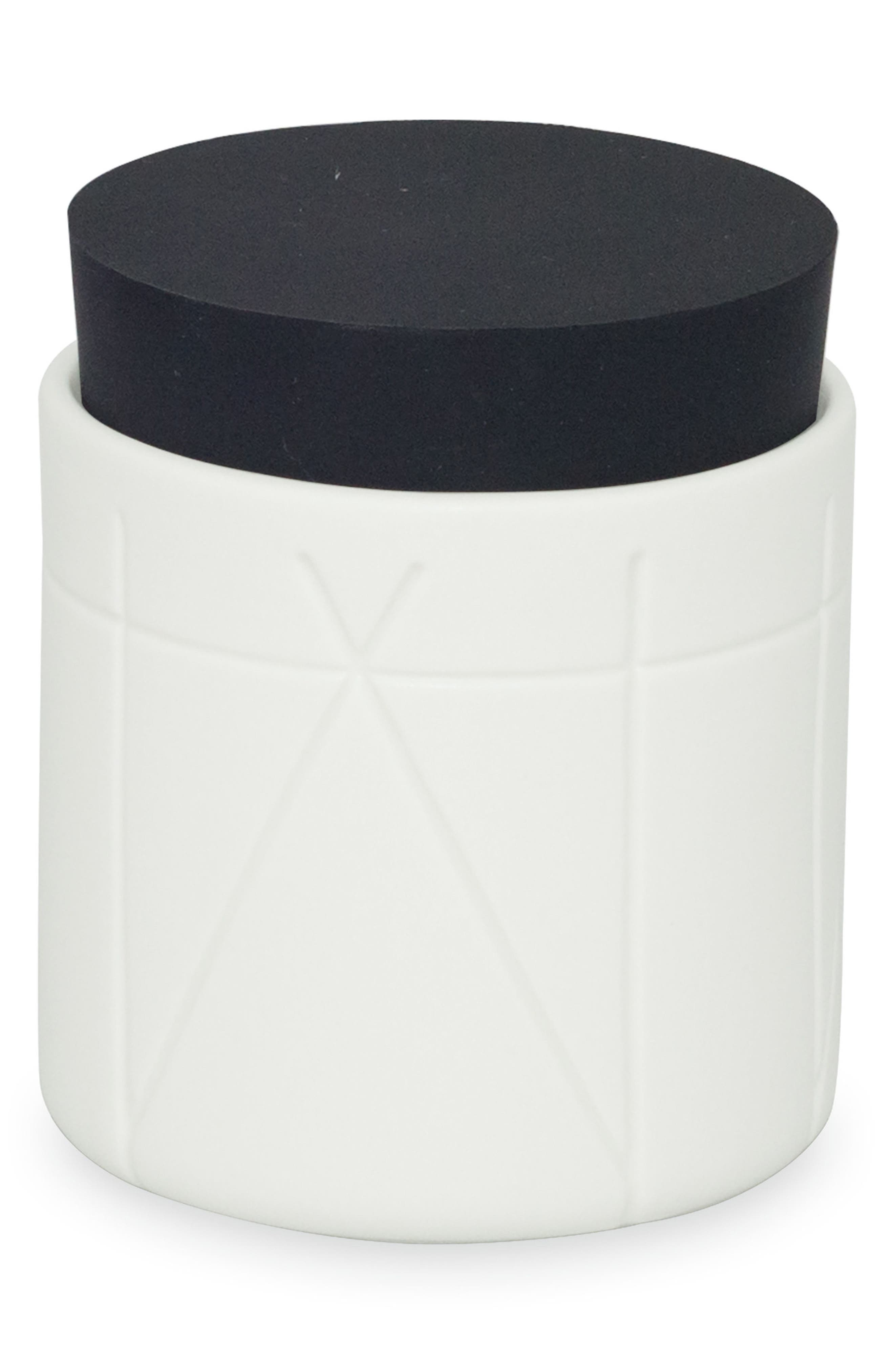 Geometrix Jar,                         Main,                         color, White