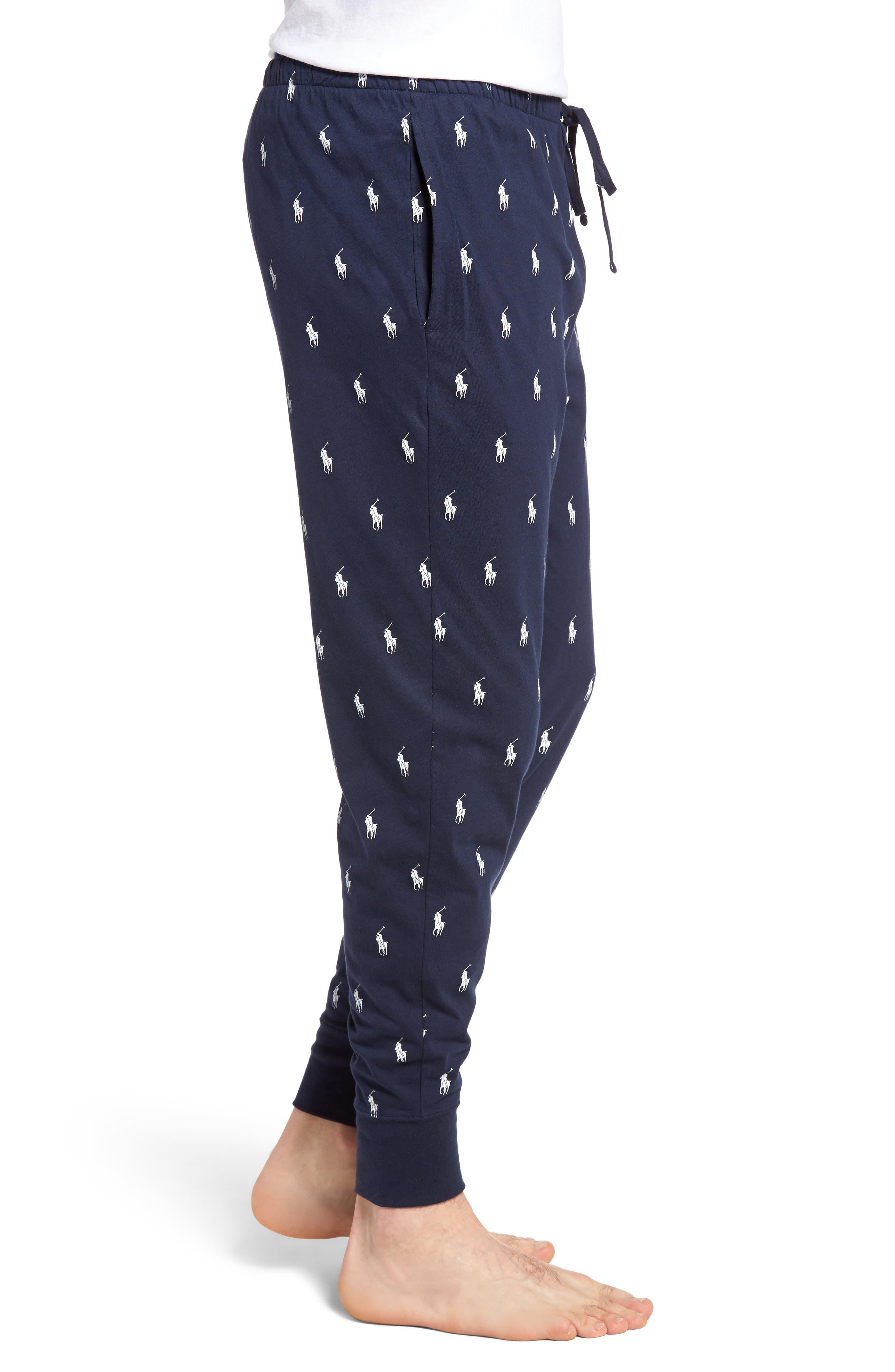 Alternate Image 3  - Polo Ralph Lauren Knit Pony Lounge Pants