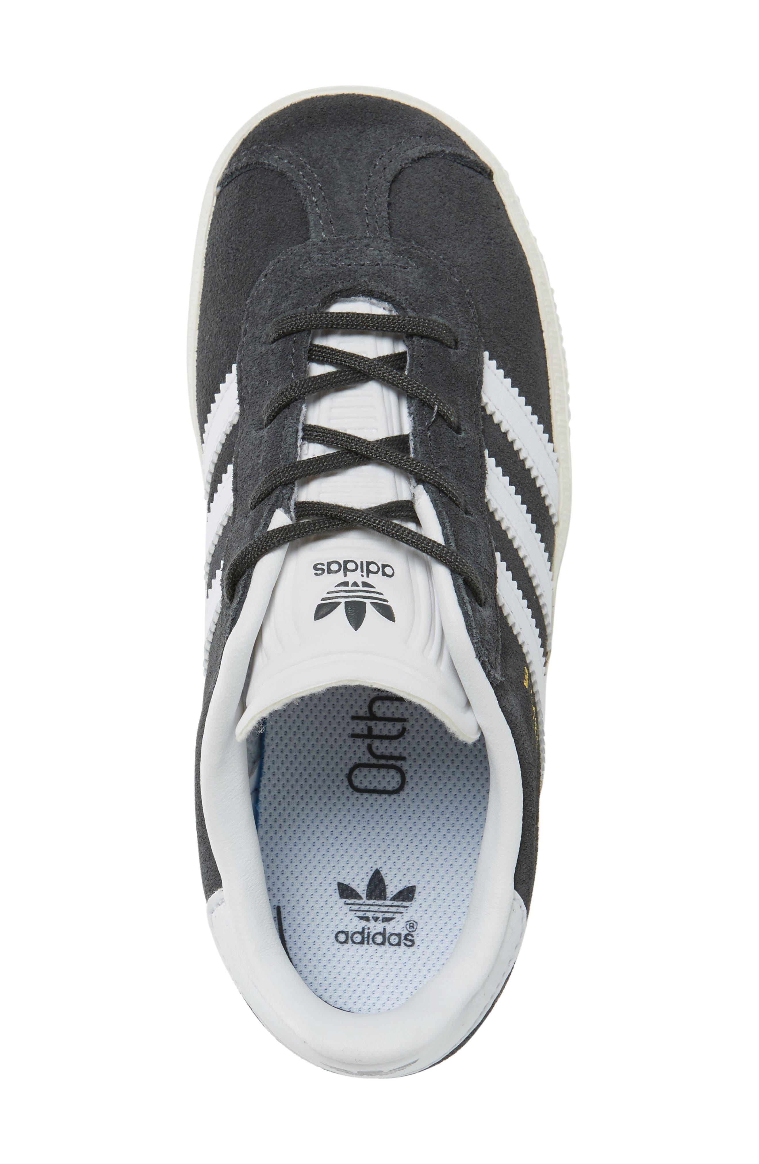 Alternate Image 3  - adidas Gazelle Sneaker (Baby, Walker & Toddler)