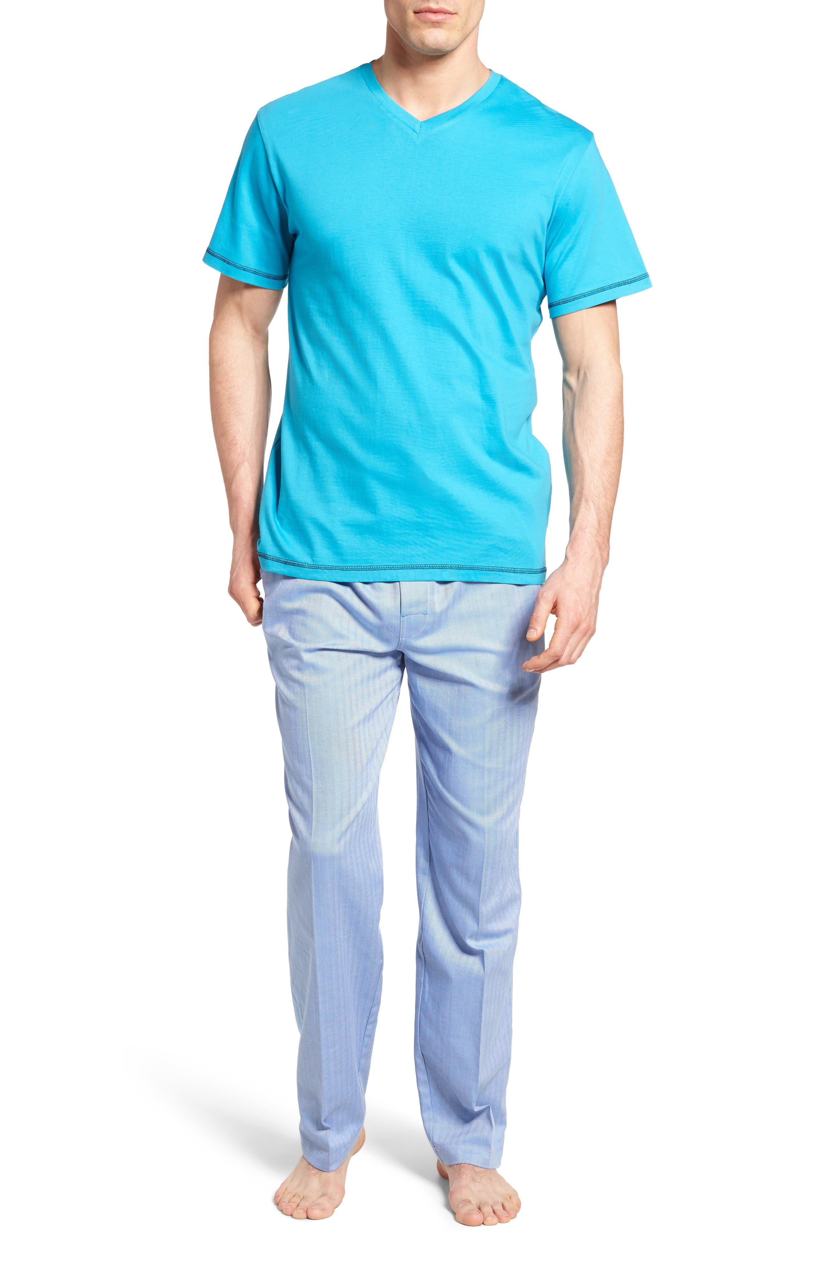 Alternate Image 1 Selected - Robert Graham Fusion Pajama Set