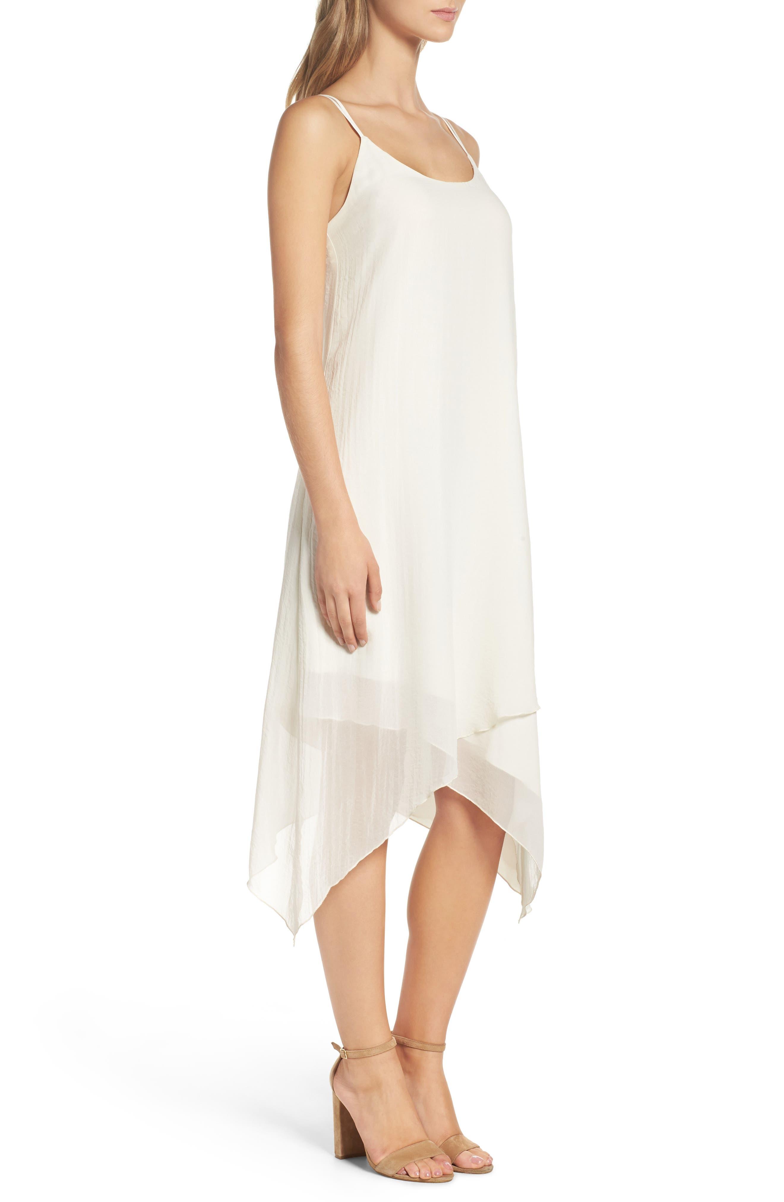 Alternate Image 3  - NSR Chiffon Midi Dress