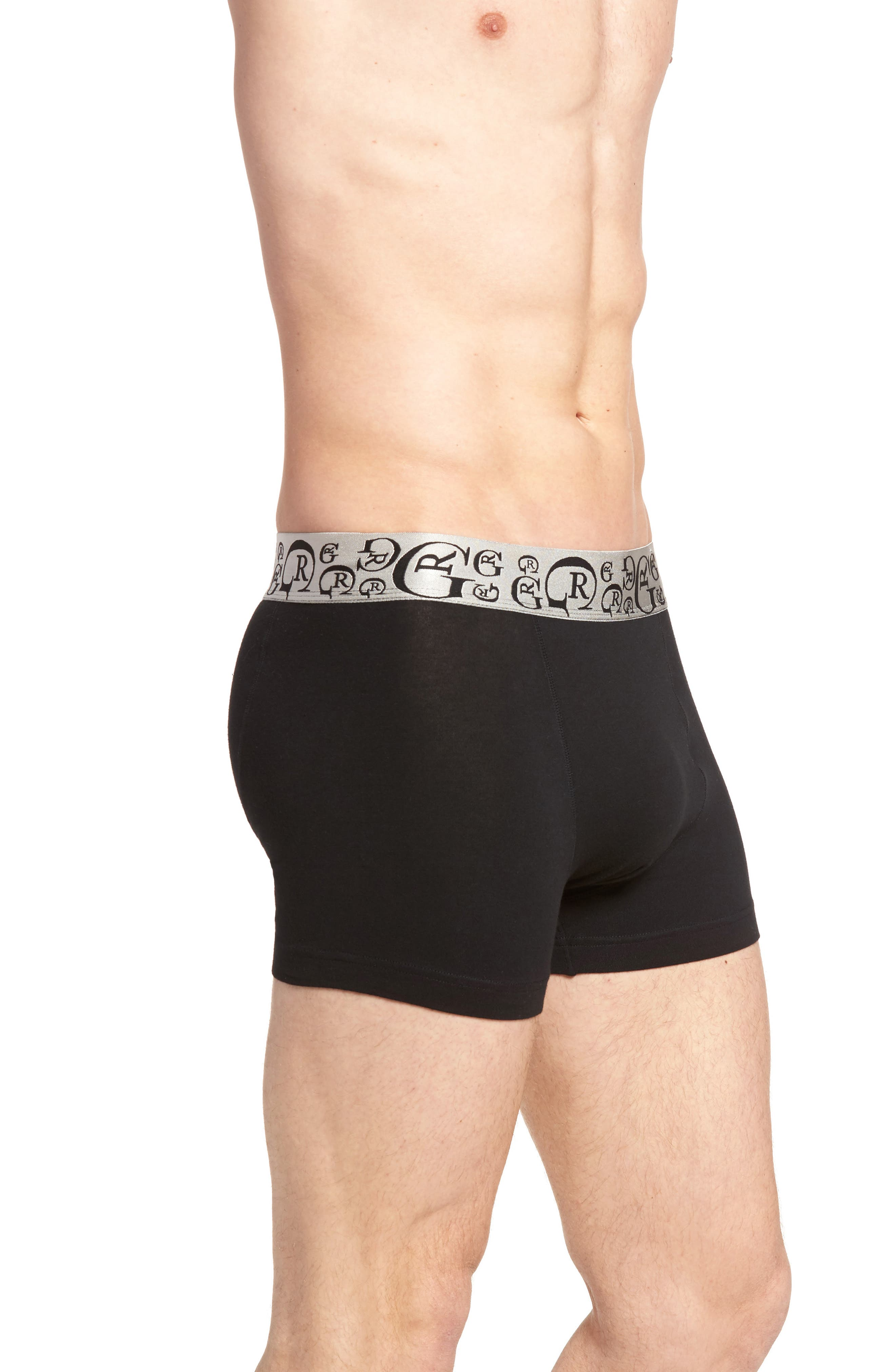 Alternate Image 3  - Robert Graham Impressions Stretch Cotton Trunks