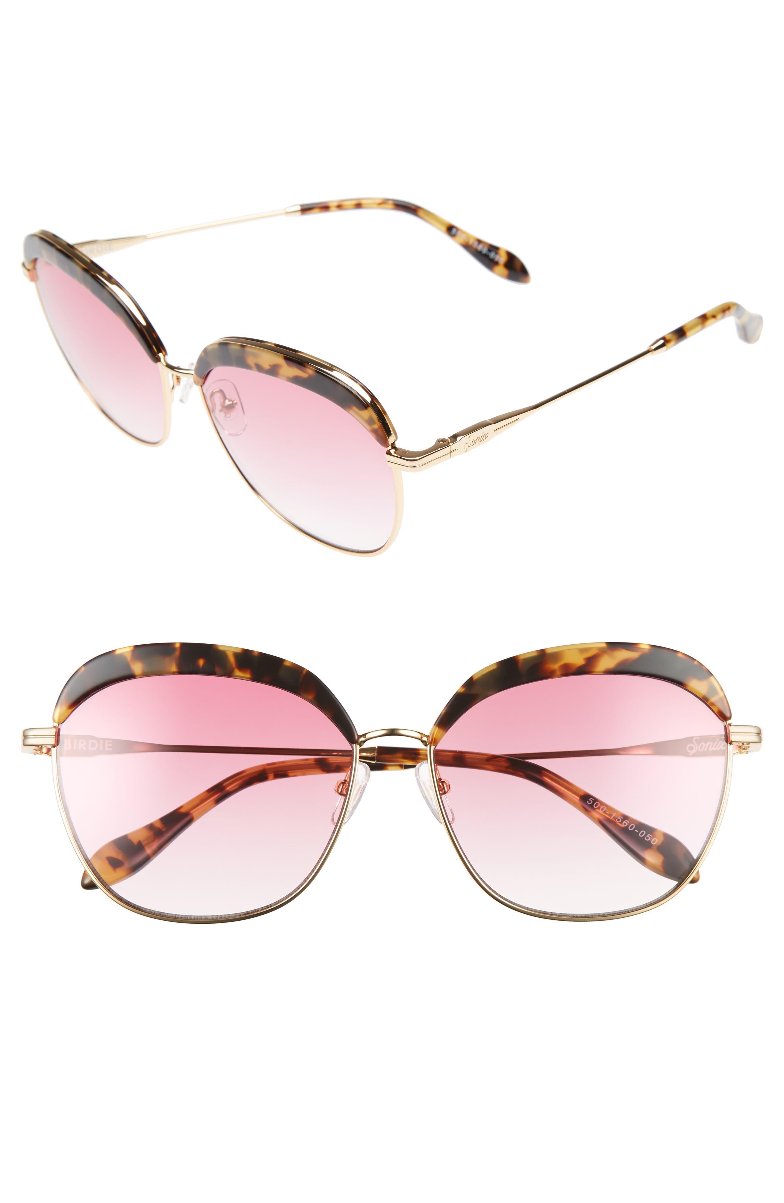 Alternate Image 1 Selected - Sonix Birdie 60mm Oversize Sunglasses