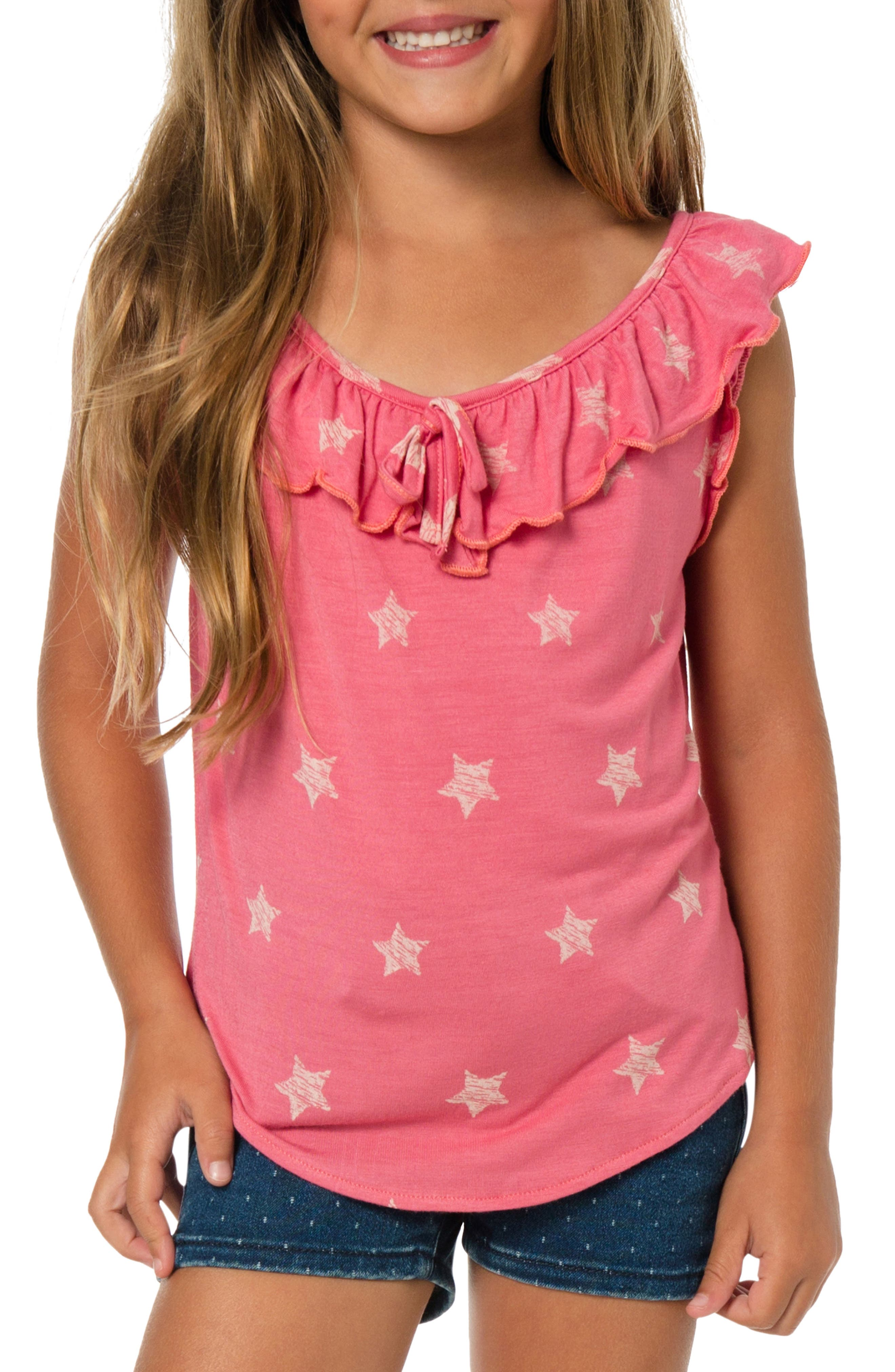 Alternate Image 1 Selected - O'Neill Starlight Tank (Toddler Girls & Little Girls)