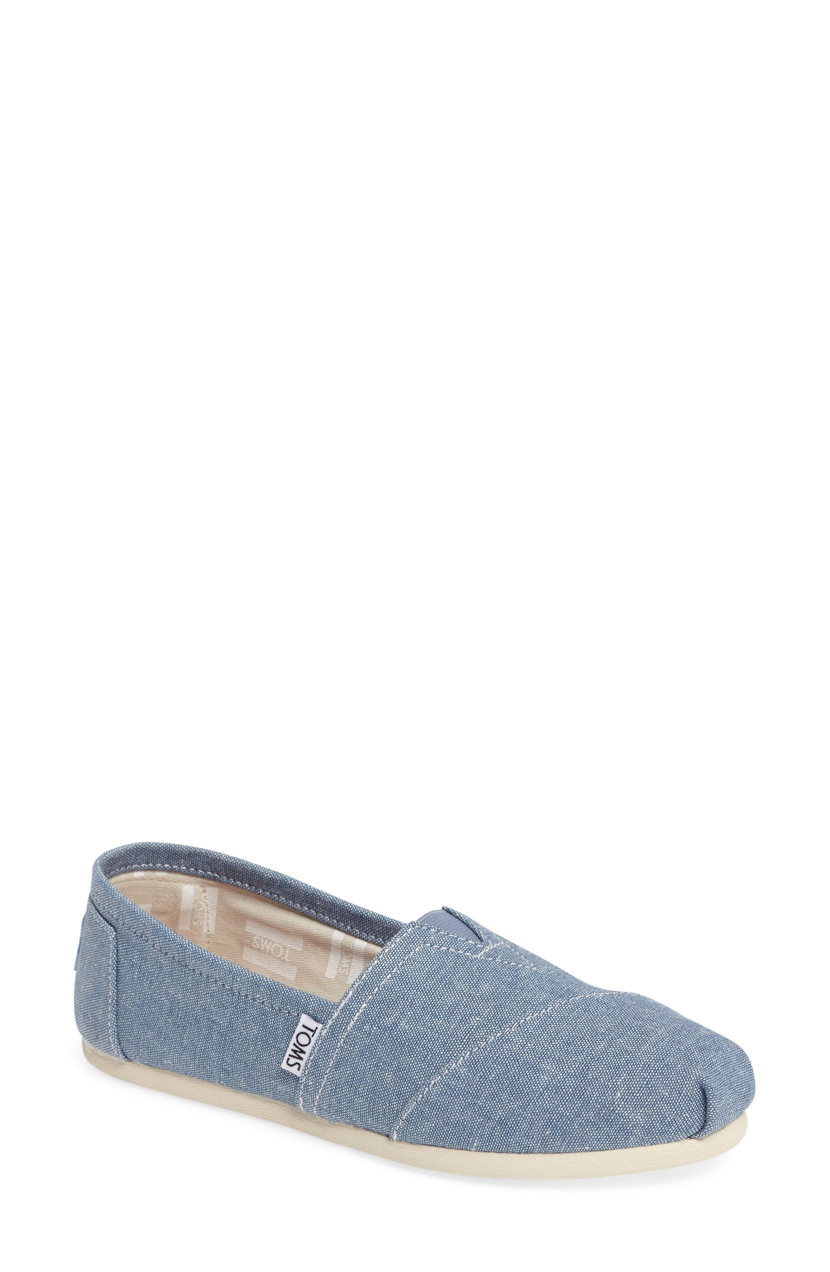 Classic Aplargata Slip-On,                         Main,                         color, Medium Blue