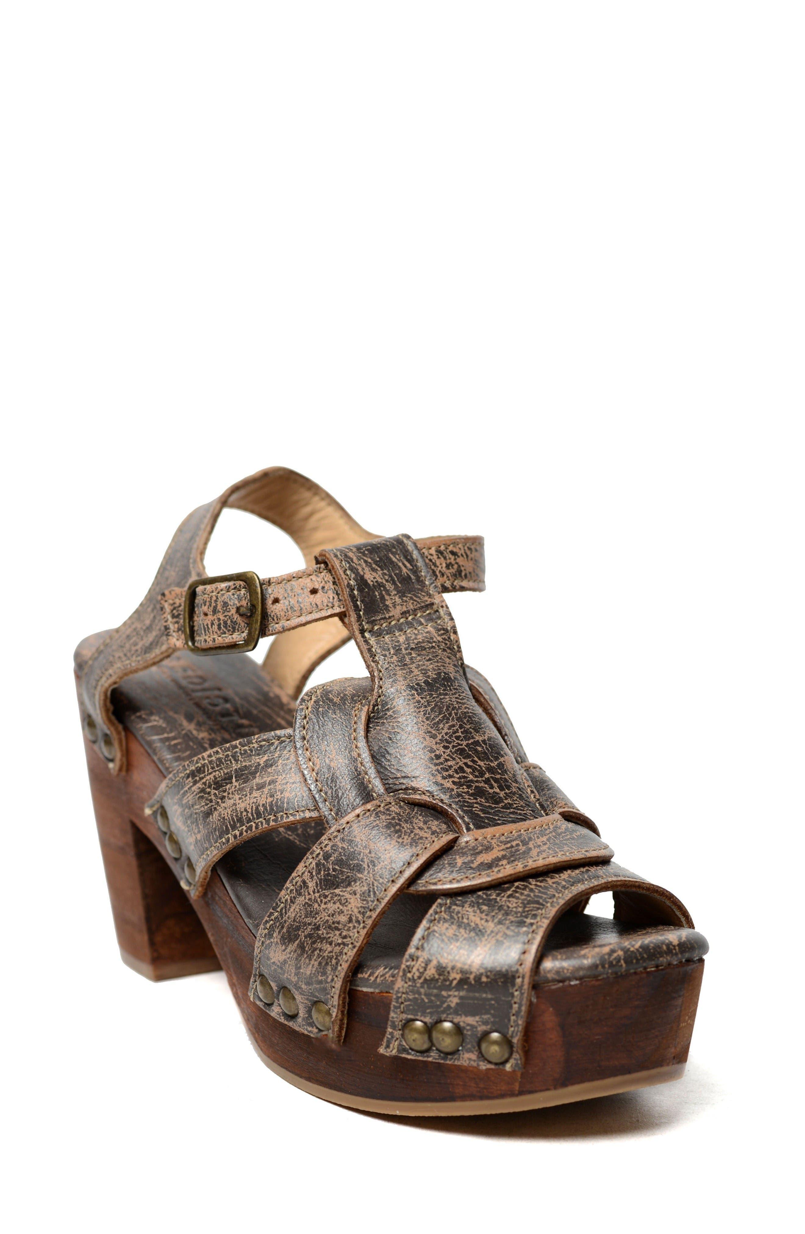BED STU Caitlin Block Heel Sandal
