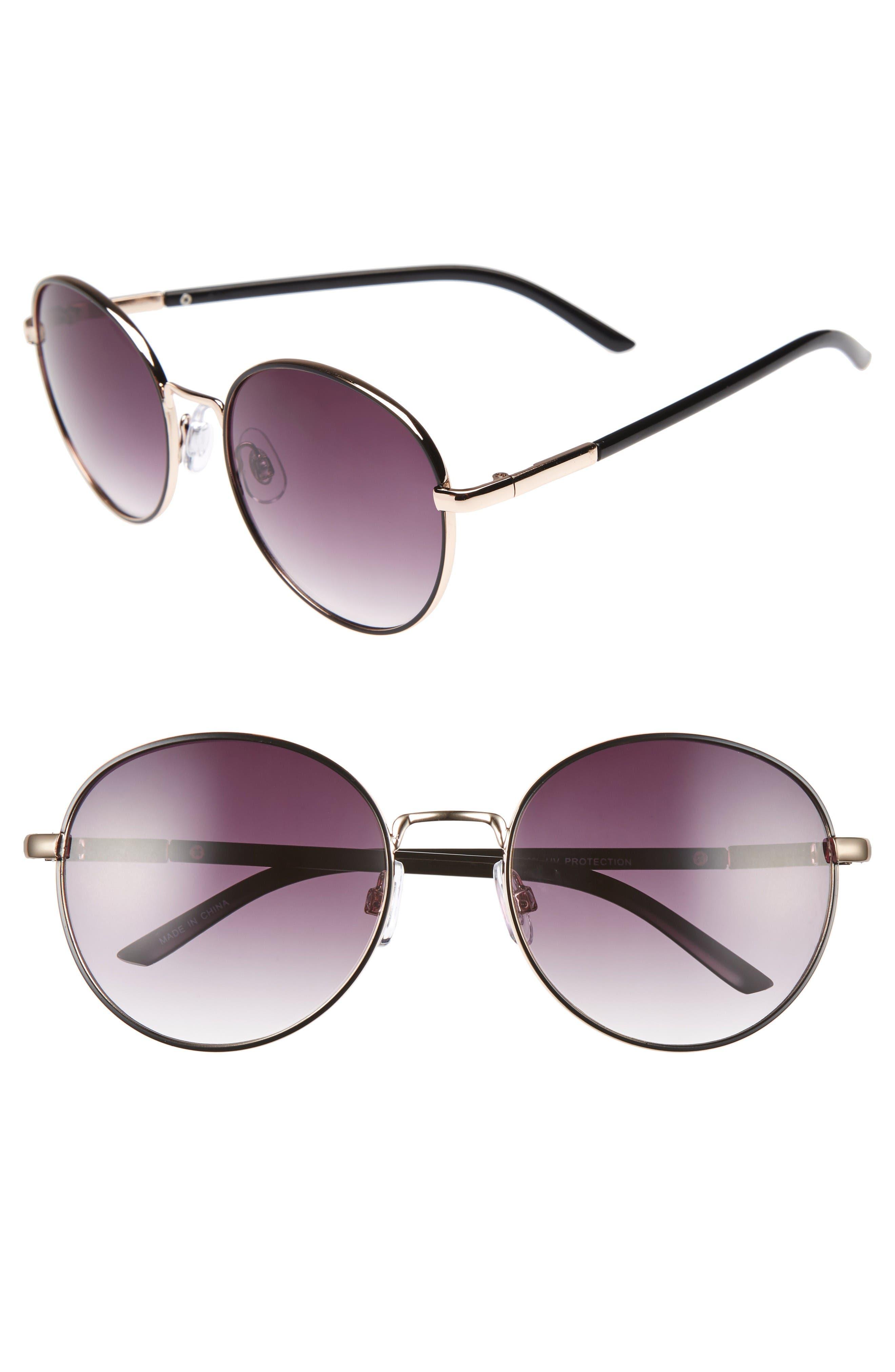 Main Image - BP. 55mm Round Sunglasses