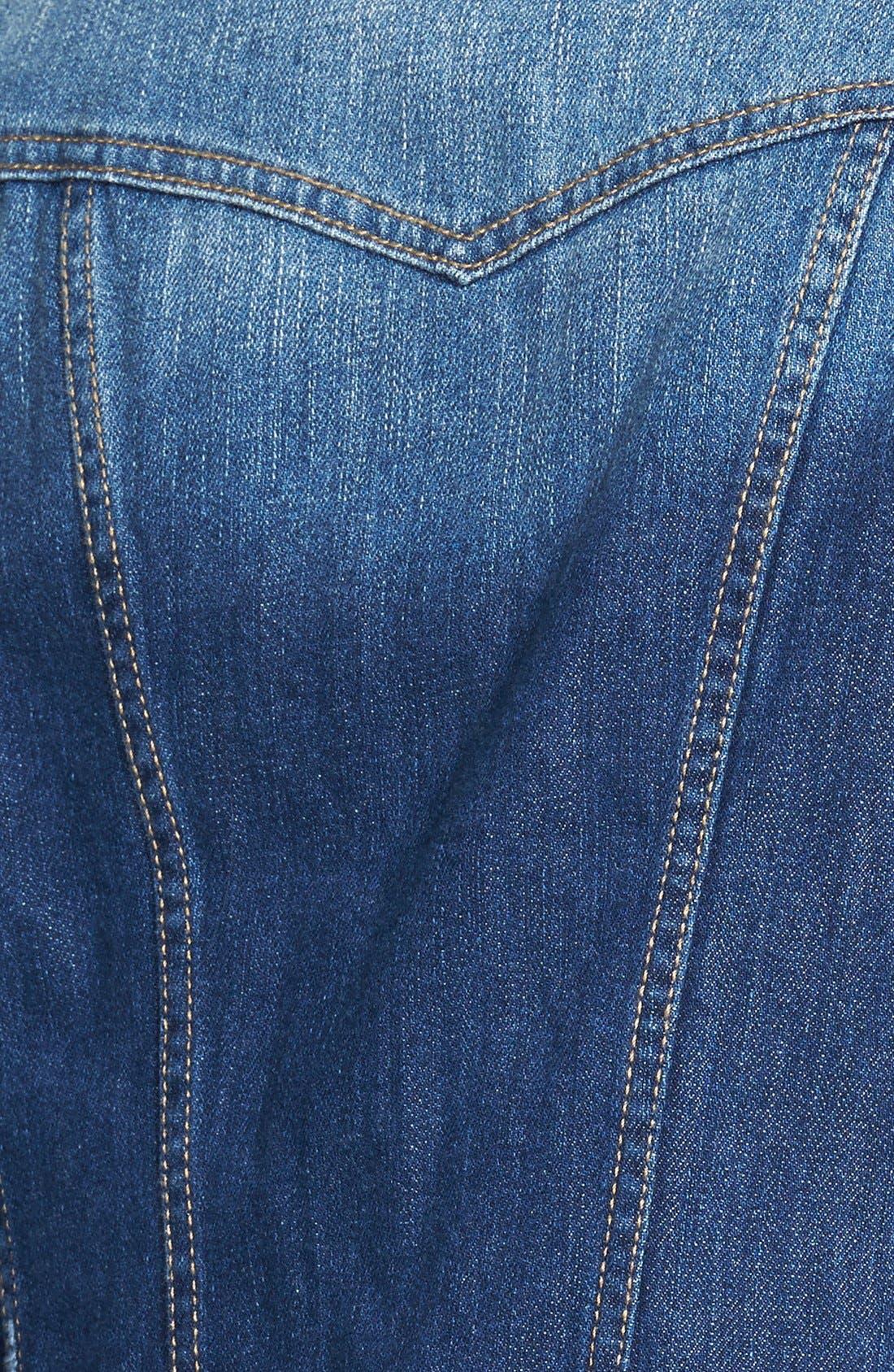 Alternate Image 3  - Jessica Simpson 'Pixie' Denim Jacket