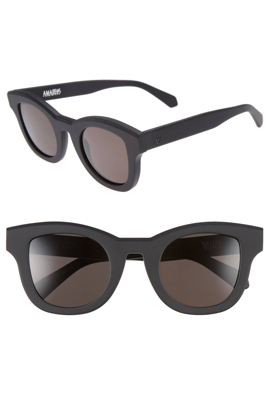 VALLEY Amadeus 48mm Retro Sunglasses