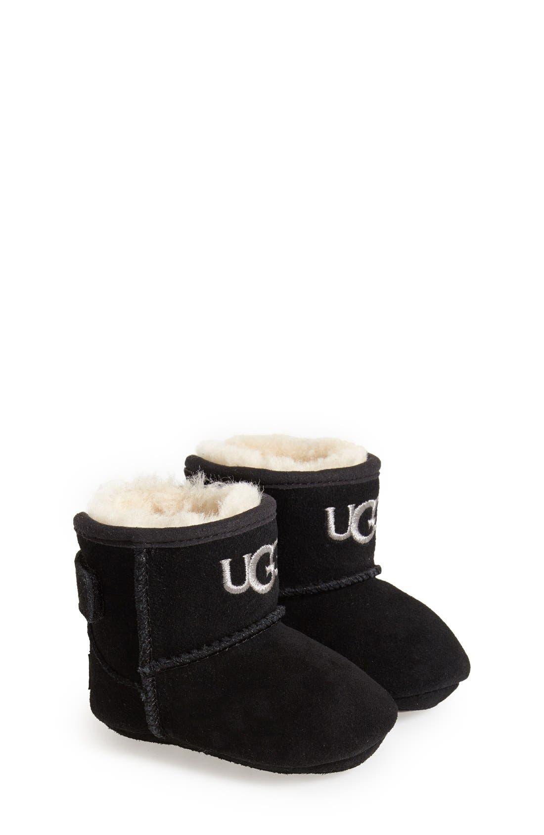Alternate Image 1 Selected - UGG® 'Jesse' Suede Boot (Baby & Walker)
