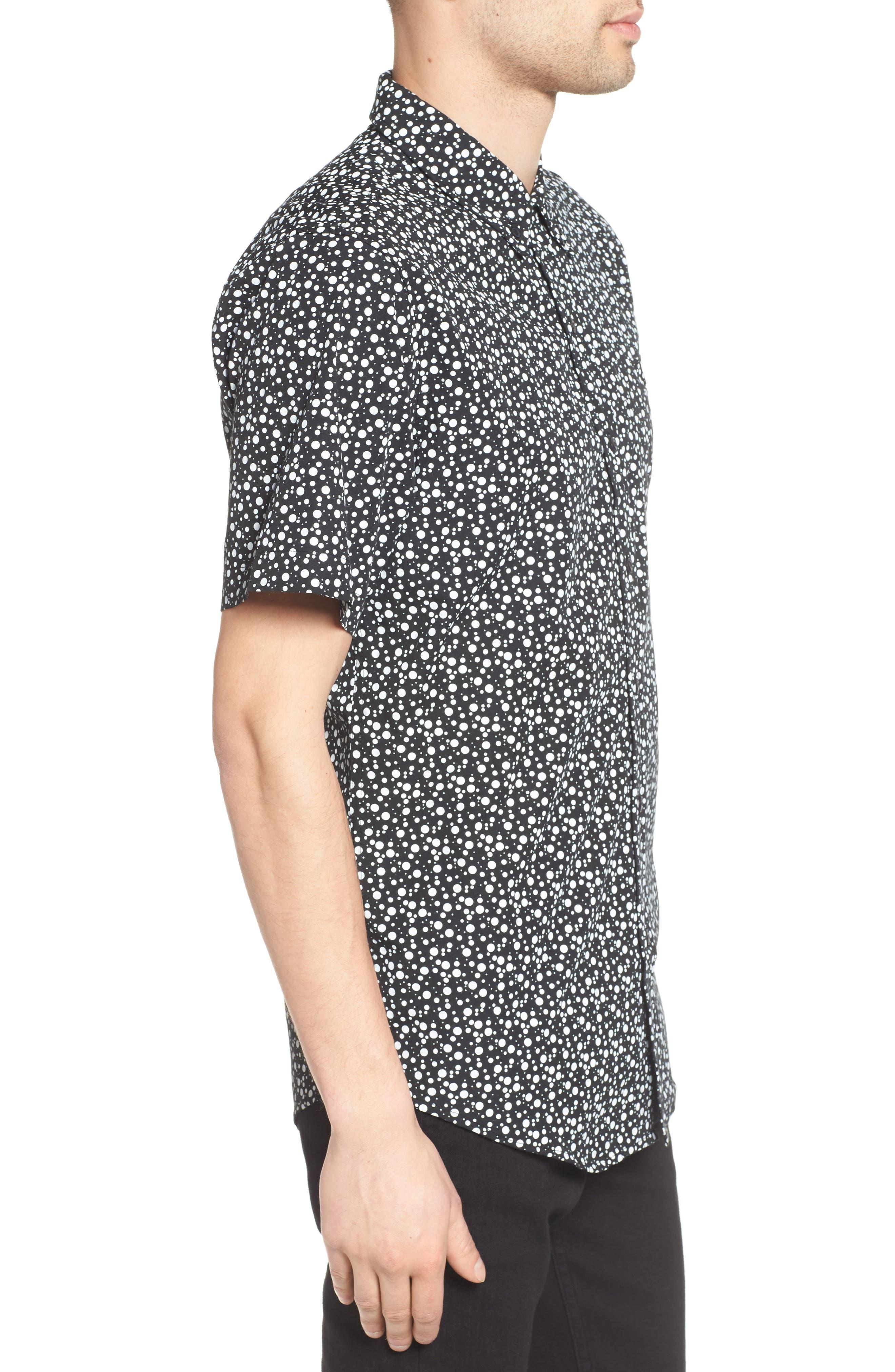 Alternate Image 3  - Ezekiel Bubble Print Woven Shirt