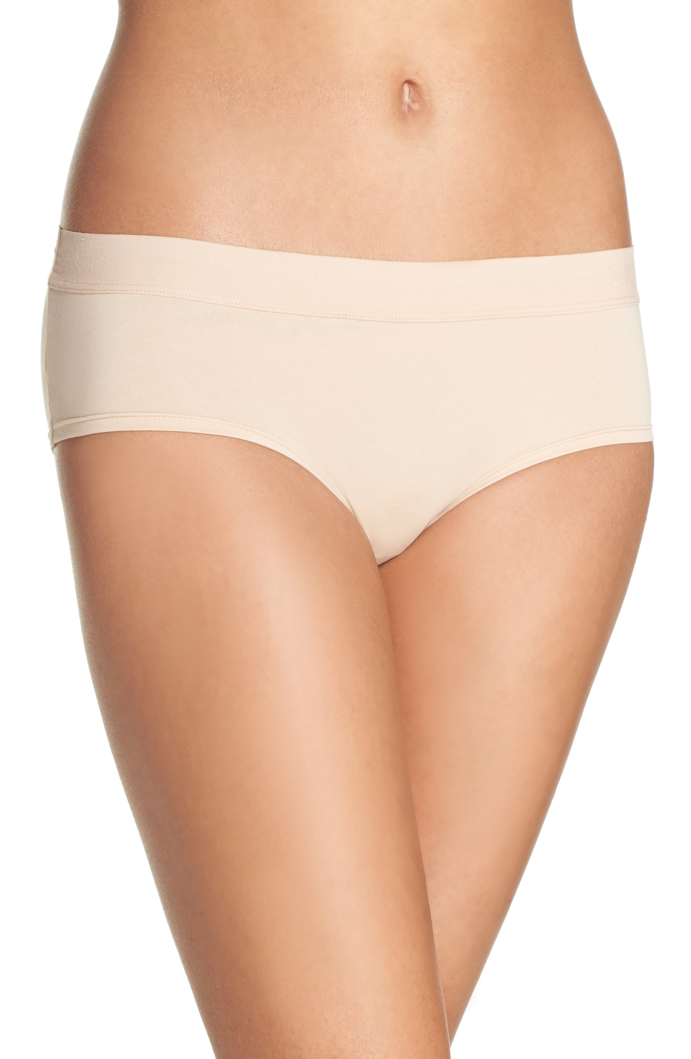 Alternate Image 1 Selected - DKNY Hipster Panties (3 for $33)