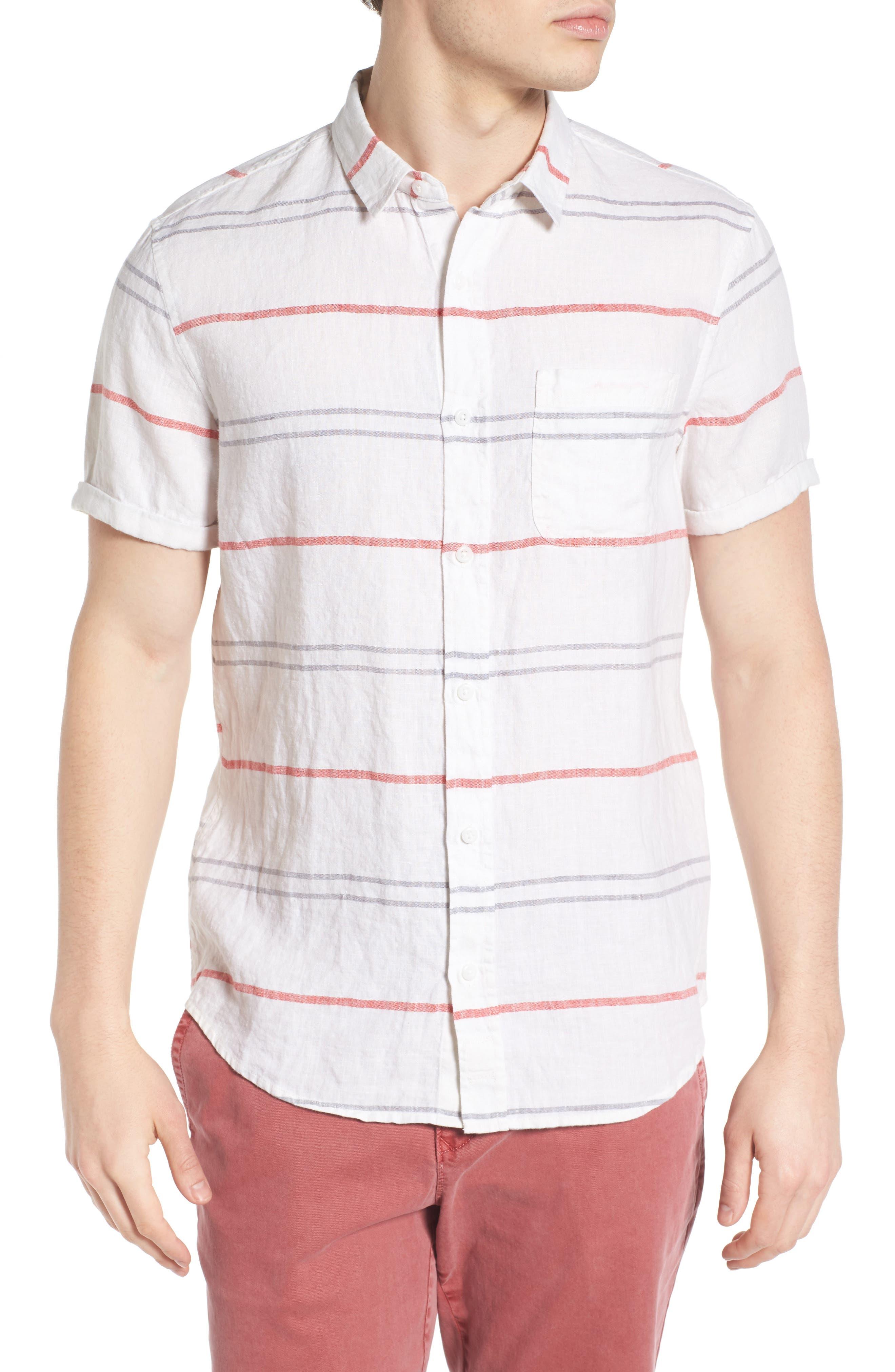 1901 Stripe Linen Shirt