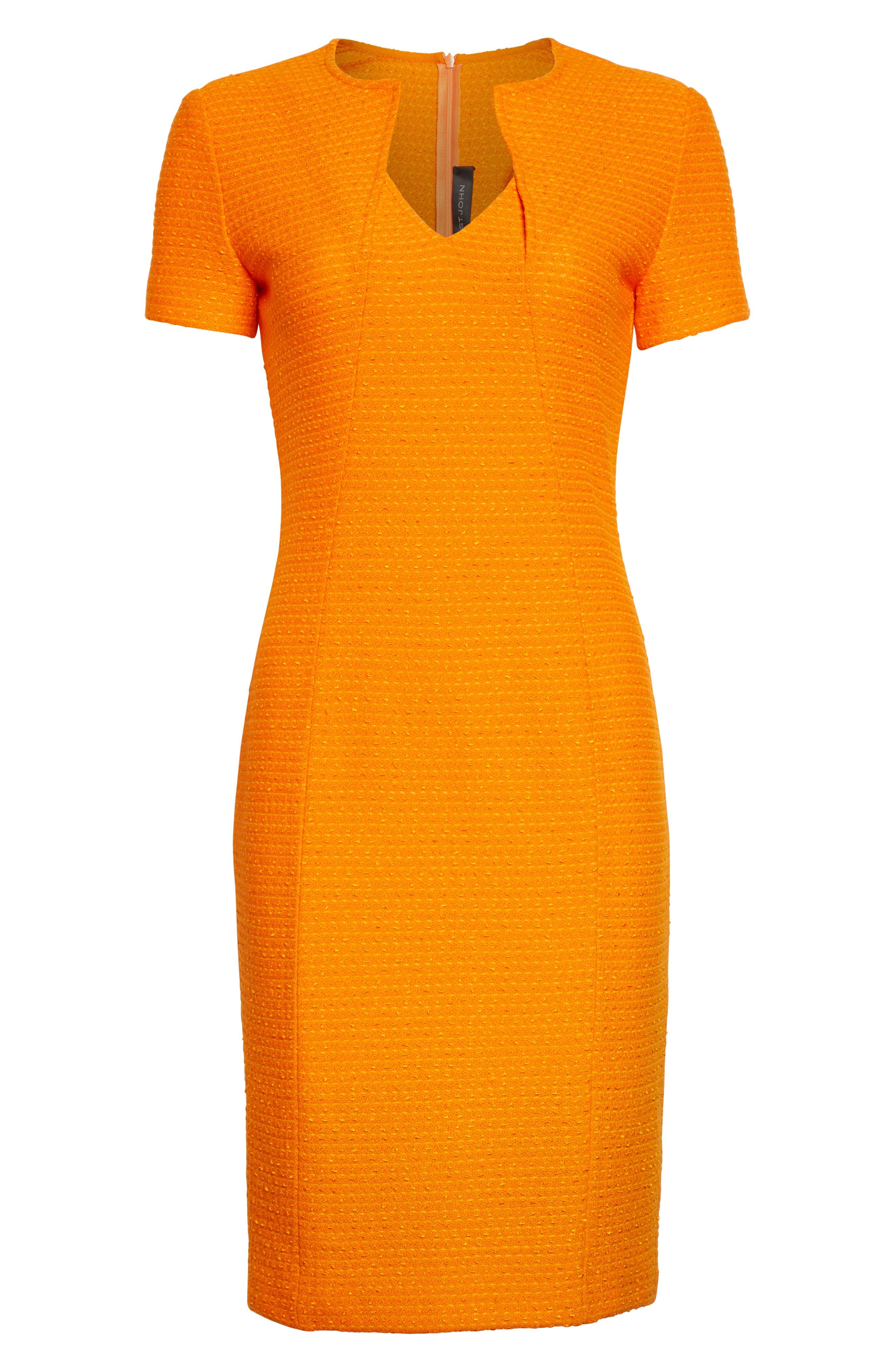 Alternate Image 3  - St. John Collection Ribbon Texture Knit Dress