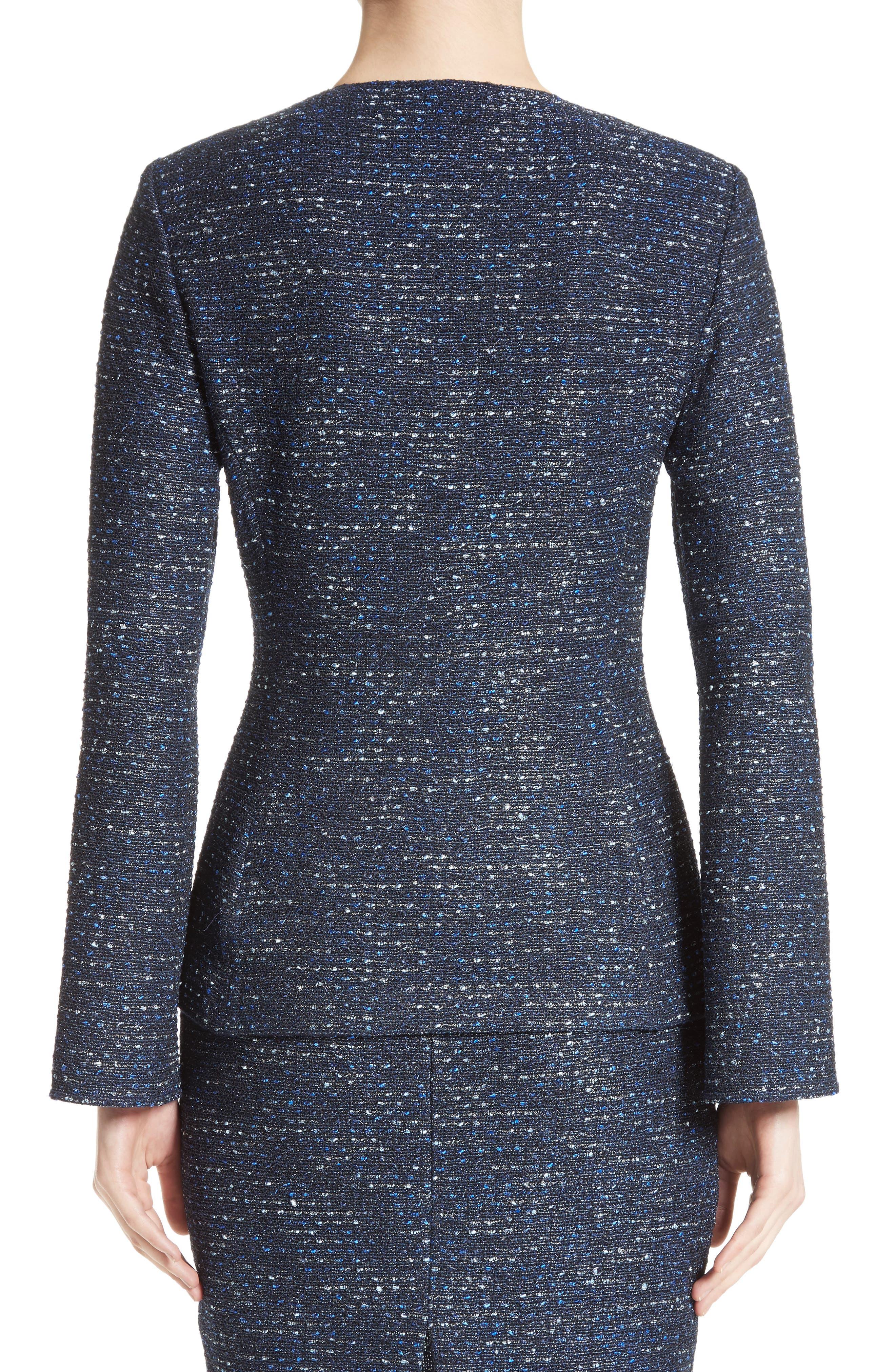 Alternate Image 2  - St. John Collection Alisha Sparkle Tweed Jacket