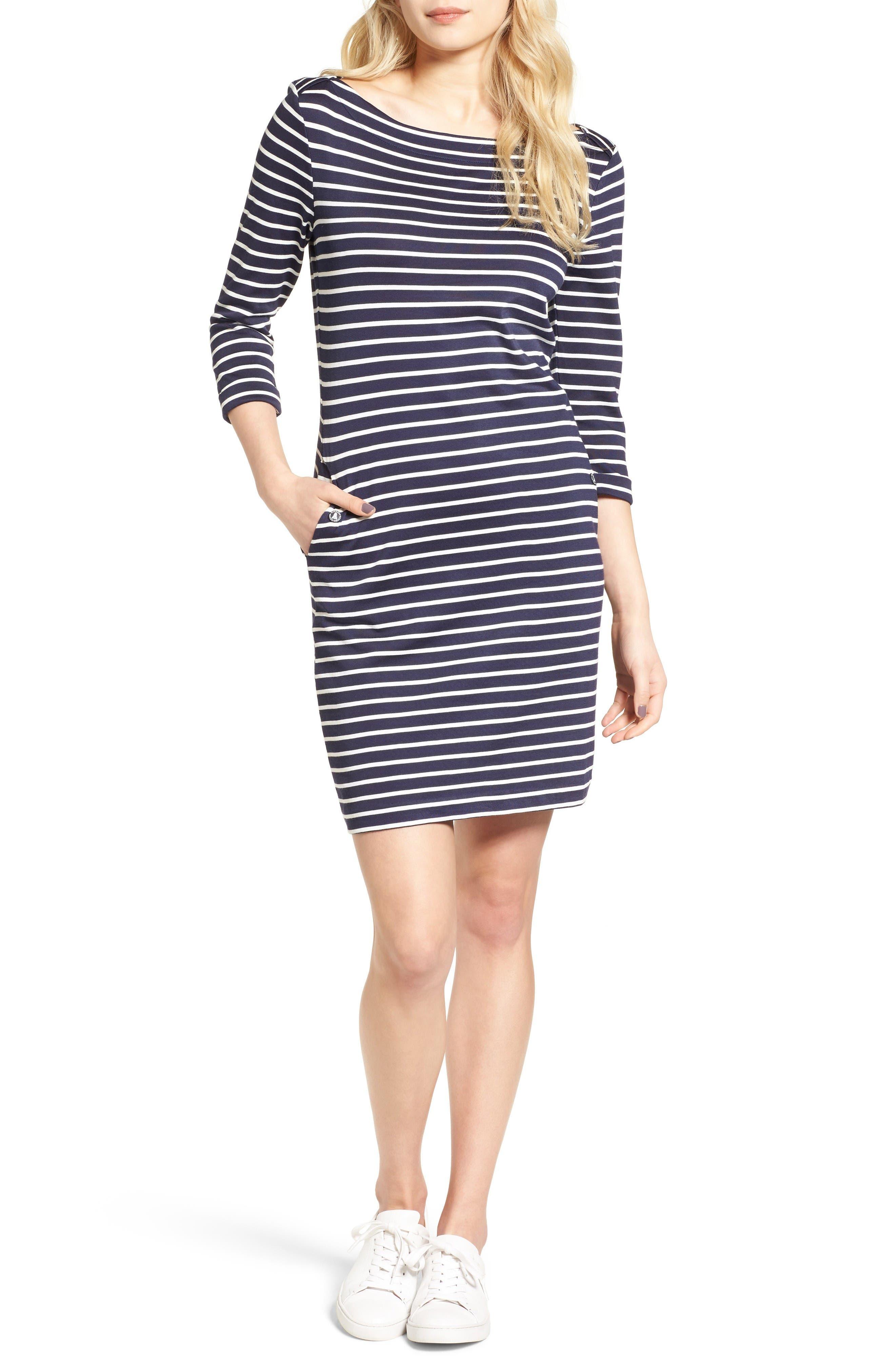 Barbour Wharf Stripe Jersey Dress
