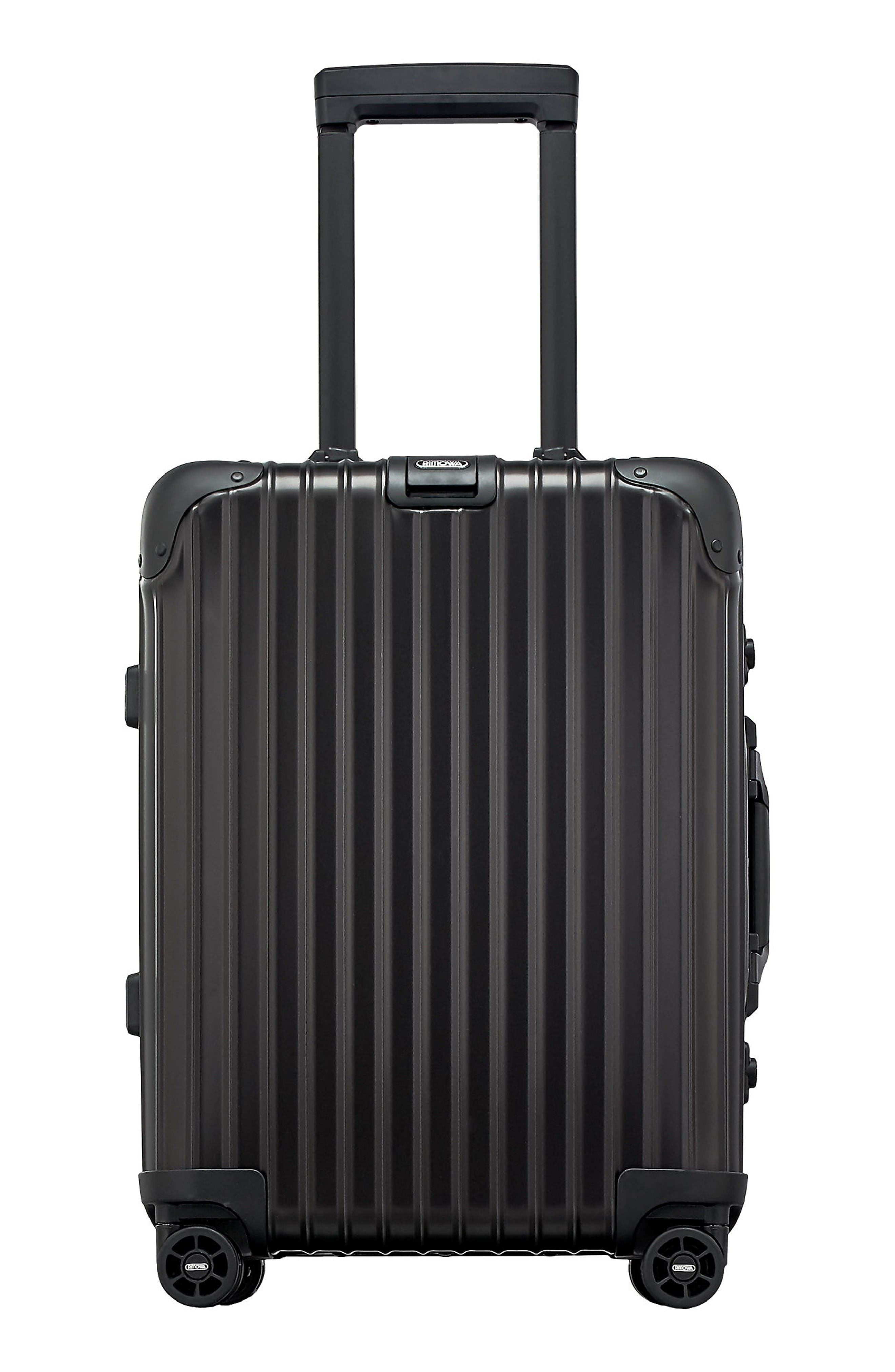 Main Image - RIMOWA Topas Stealth 22-Inch Cabin Multiwheel® Aluminum Carry-On
