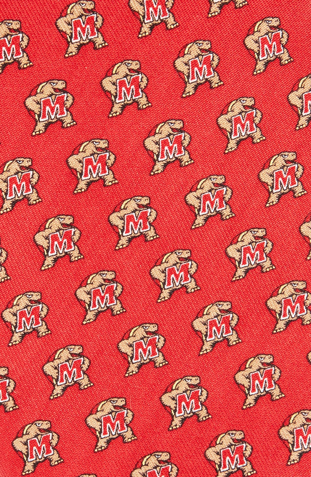 Alternate Image 2  - Vineyard Vines University of Maryland Silk Tie