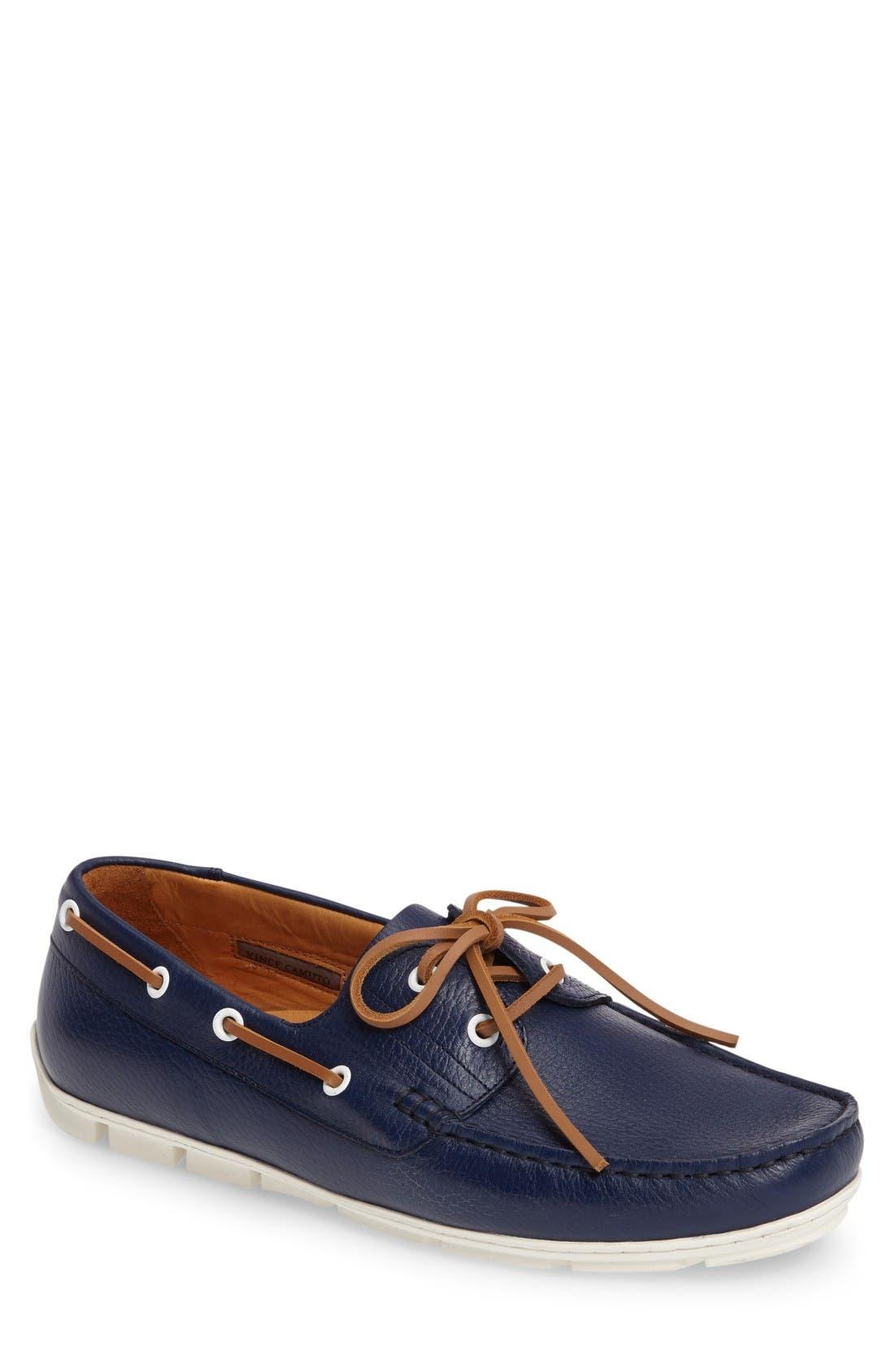 Alternate Image 1 Selected - Vince Camuto Don Boat Shoe (Men)