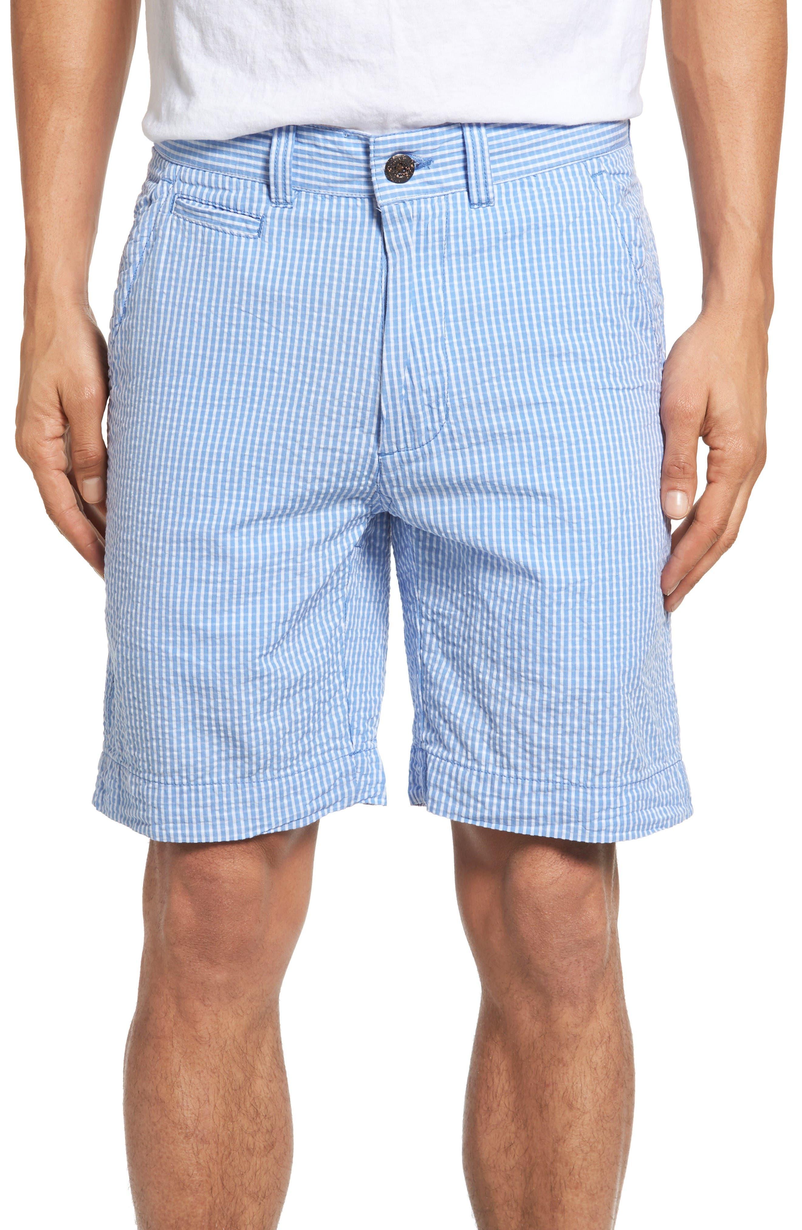 Alternate Image 1 Selected - Vintage 1946 Stripe Seersucker Shorts