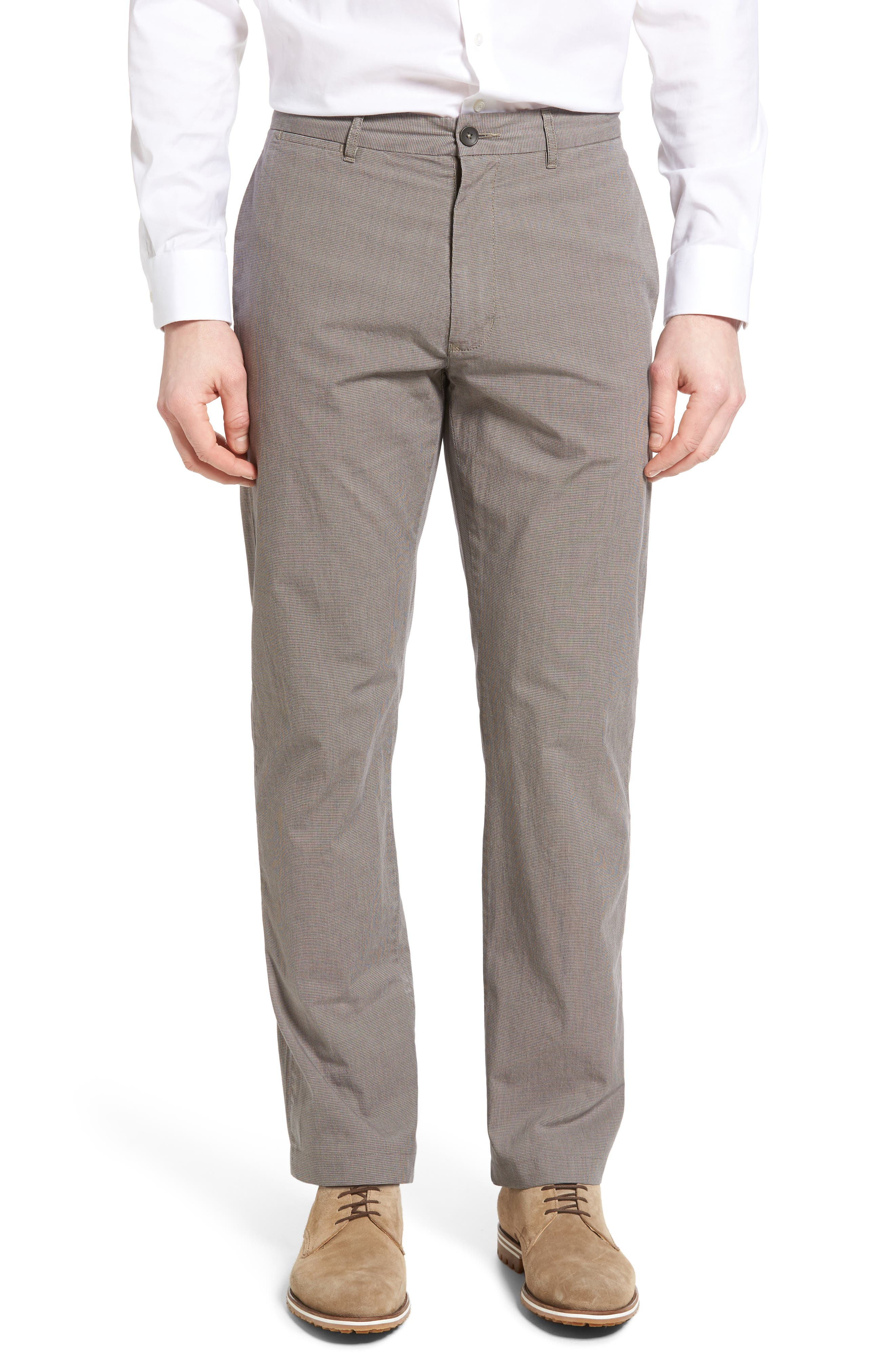 Woodward Regular Fit Trousers,                         Main,                         color, Natural