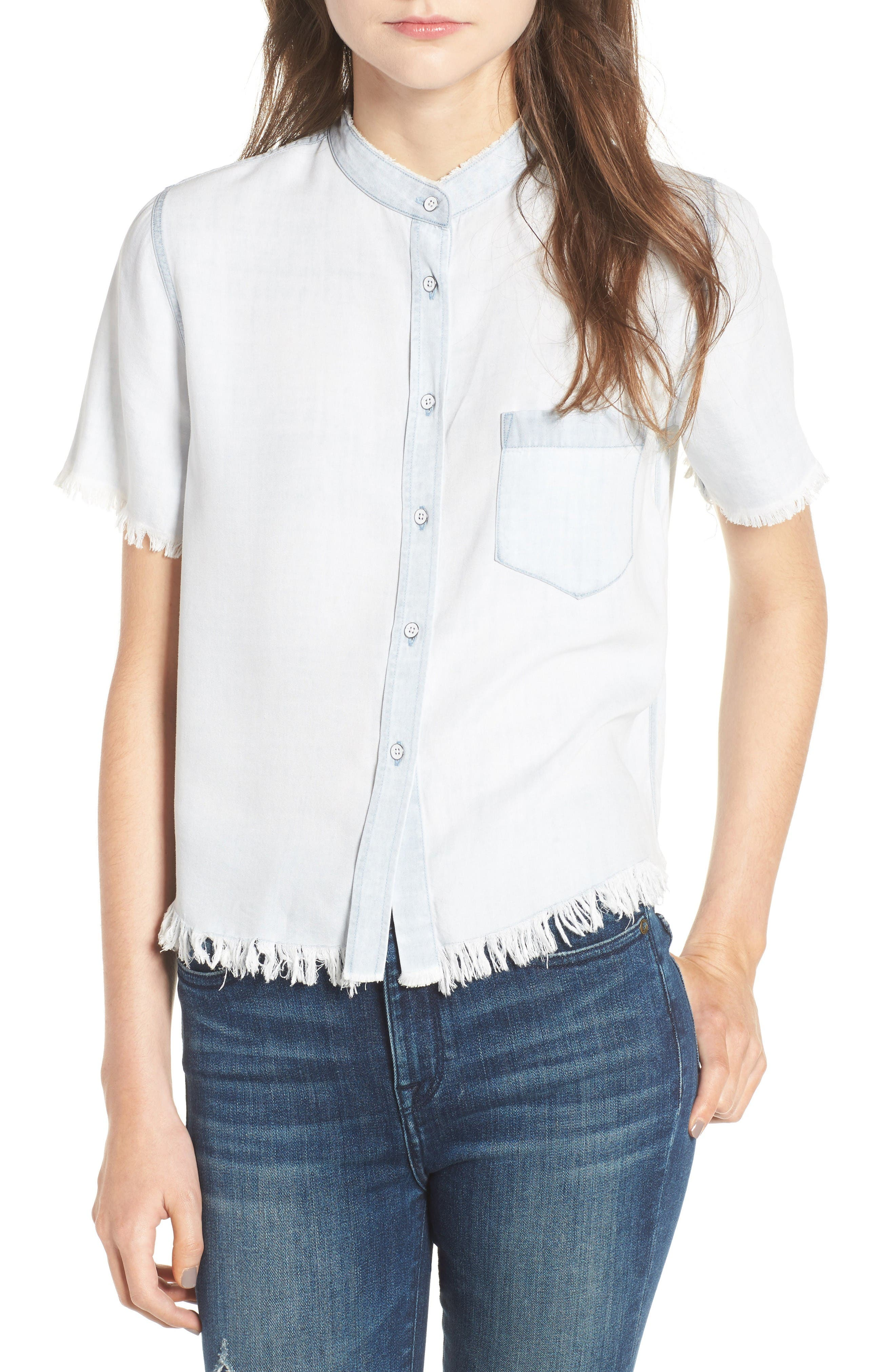 Montauk Shirt,                             Main thumbnail 1, color,                             Bleached