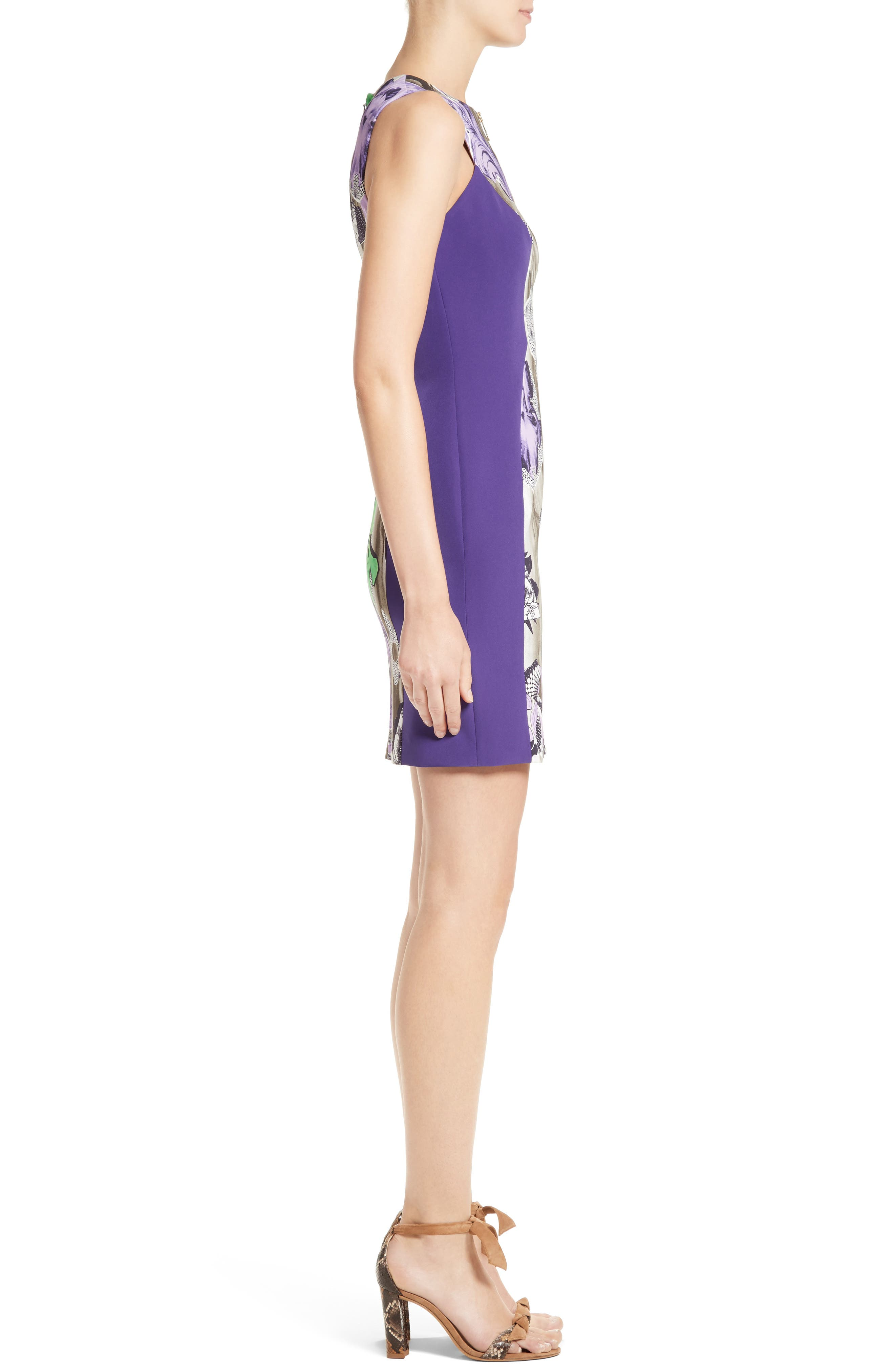Alternate Image 5  - Versace Collection Print Sheath Dress