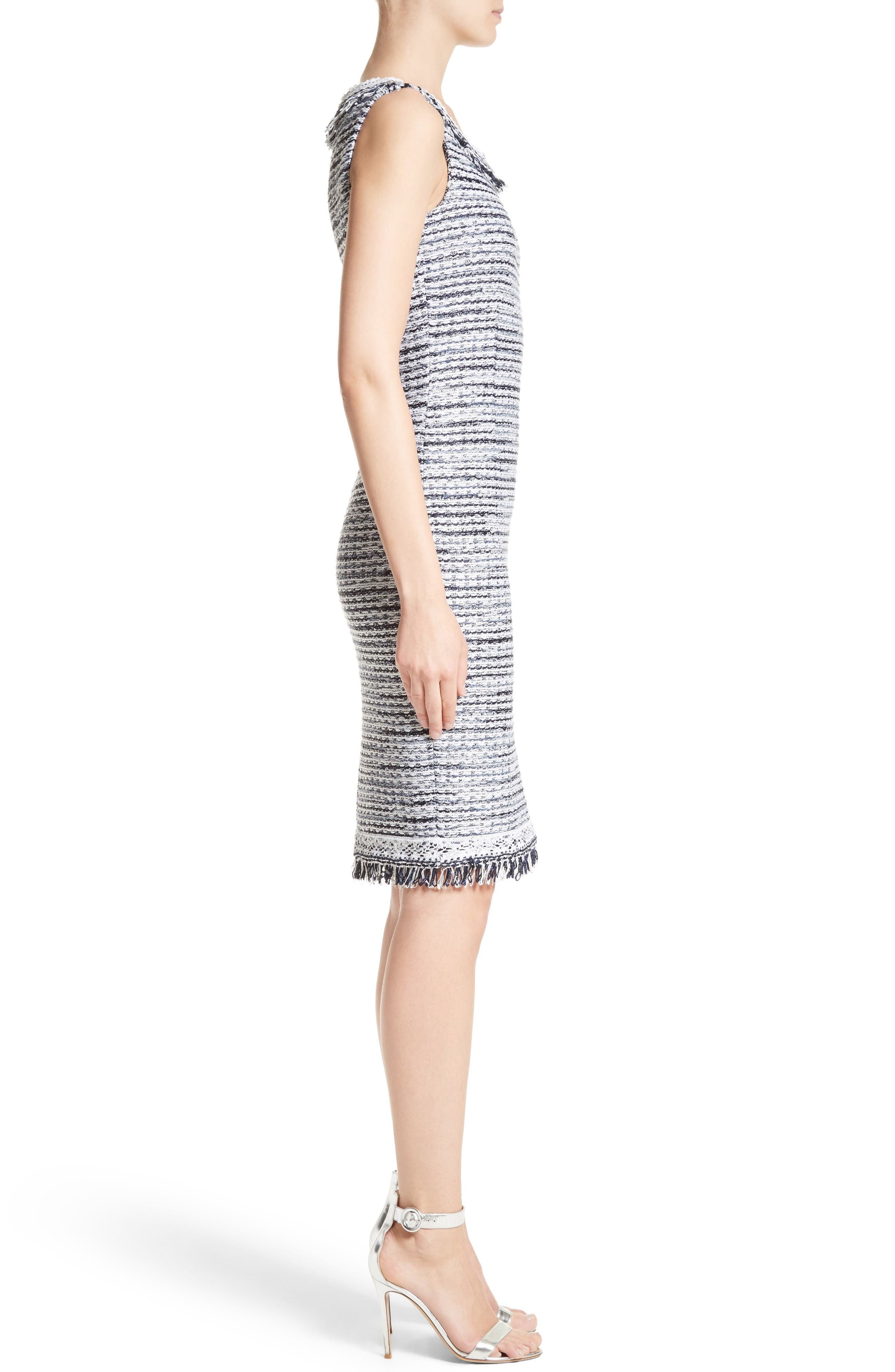 Alternate Image 3  - S. John Collection Tanya Knit Pencil Dress