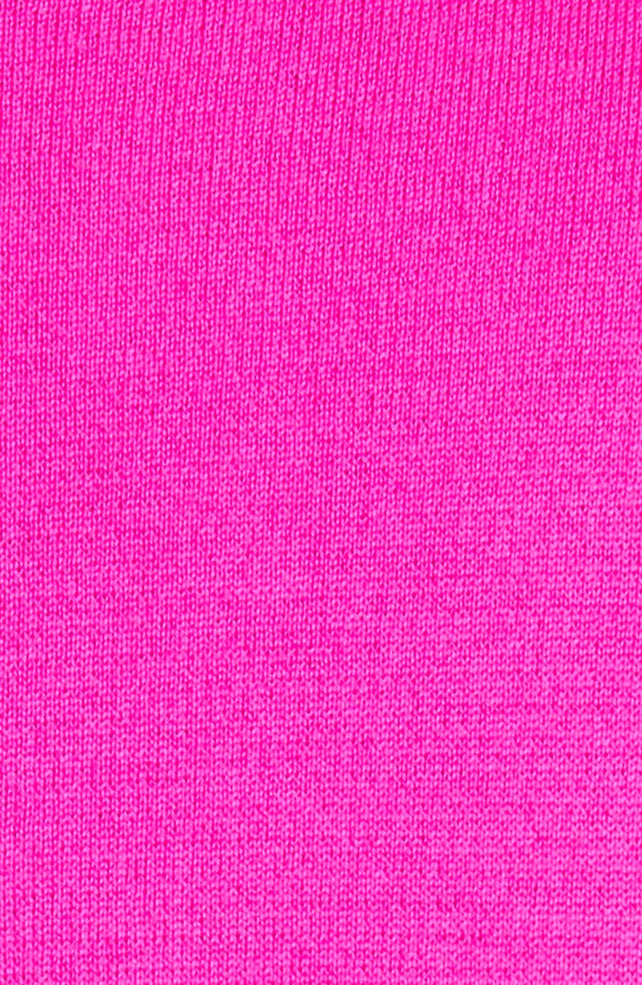 Milano Knit Asymmetrical Dress,                             Alternate thumbnail 6, color,                             Zinnia