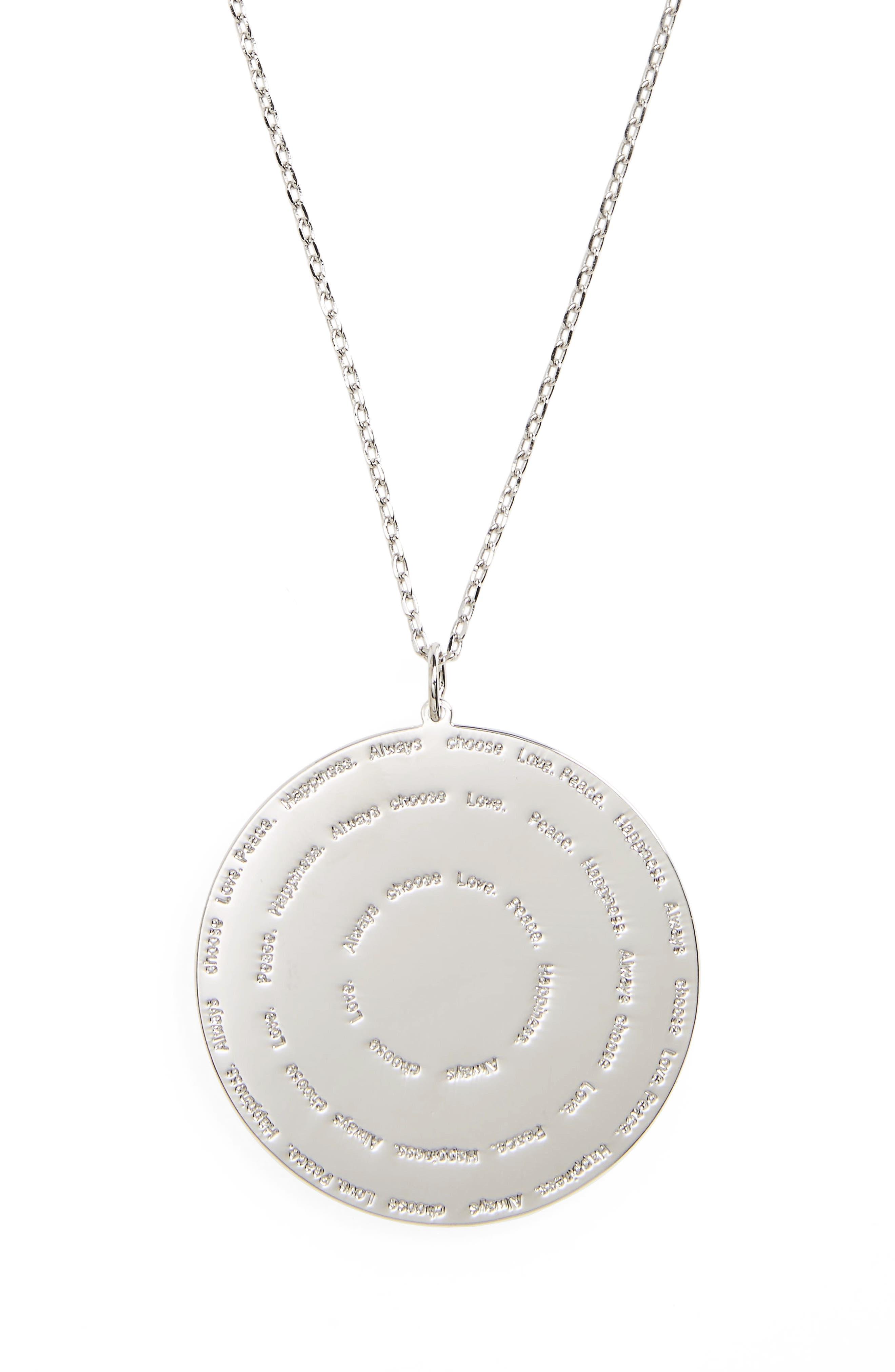 Alternate Image 3  - lulu dk Always Choose Love Pendant Necklace