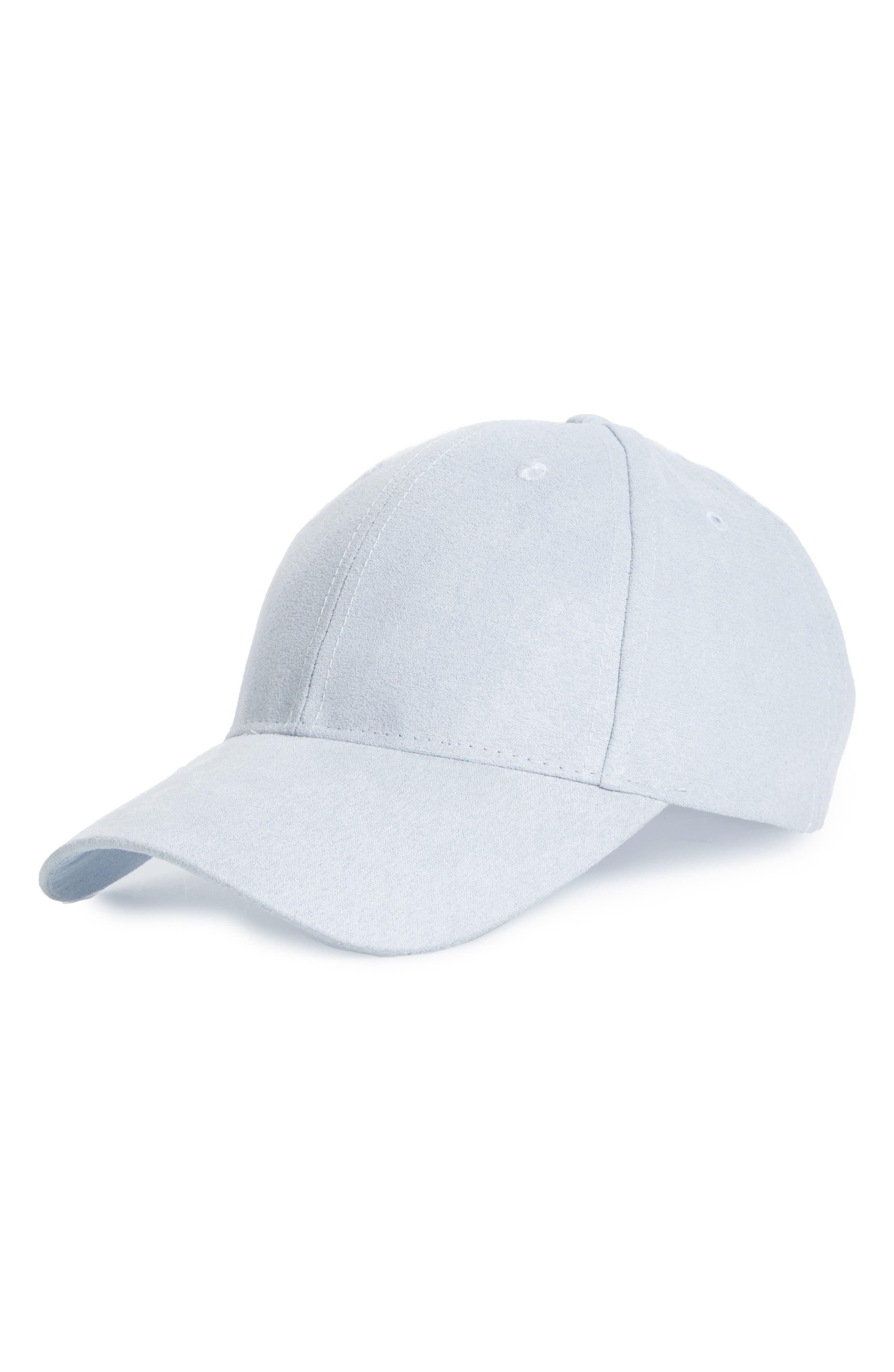 Alternate Image 1 Selected - BP. Faux Suede Baseball Cap