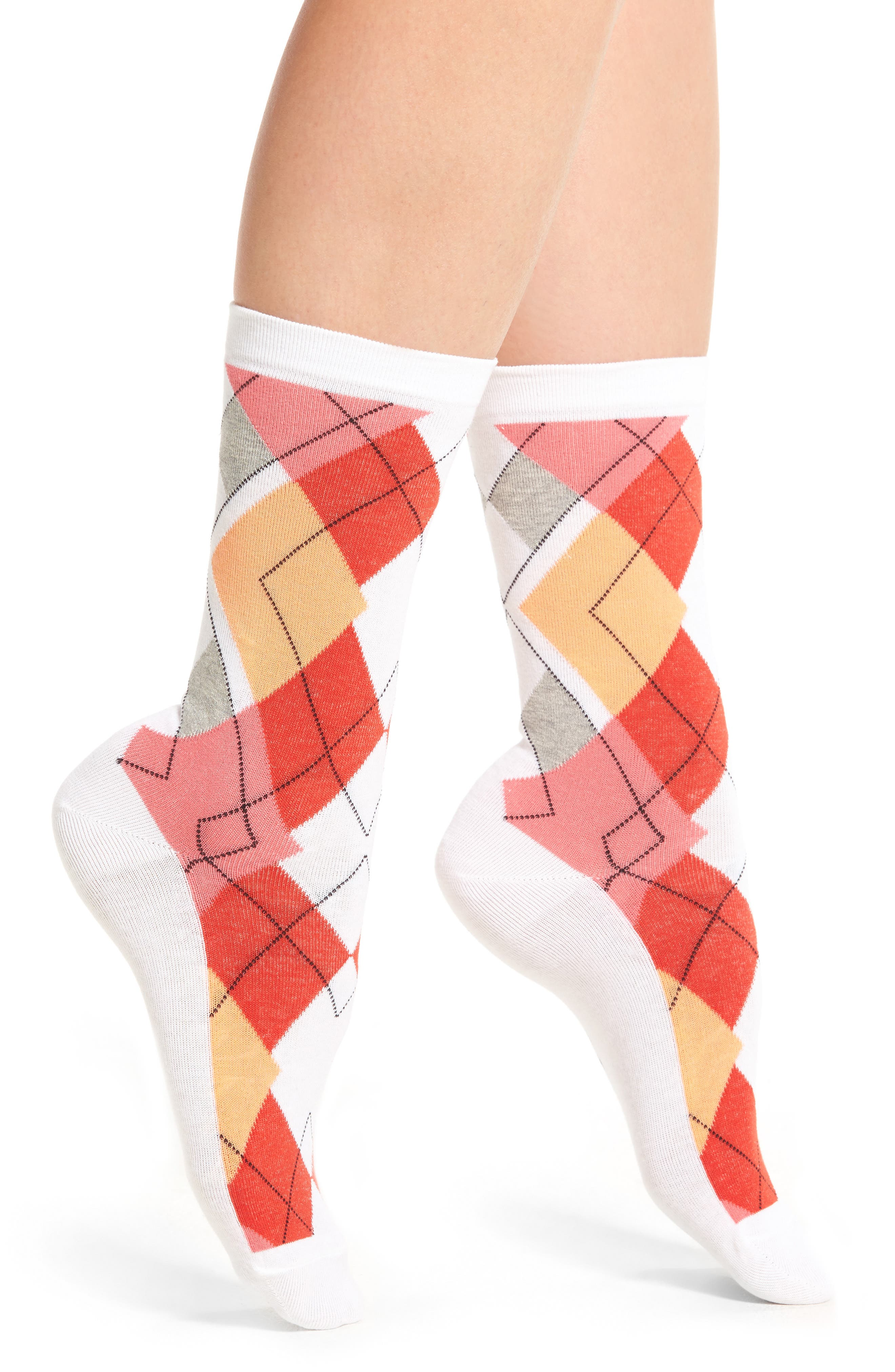 Alternate Image 1 Selected - Hue Argyle Socks