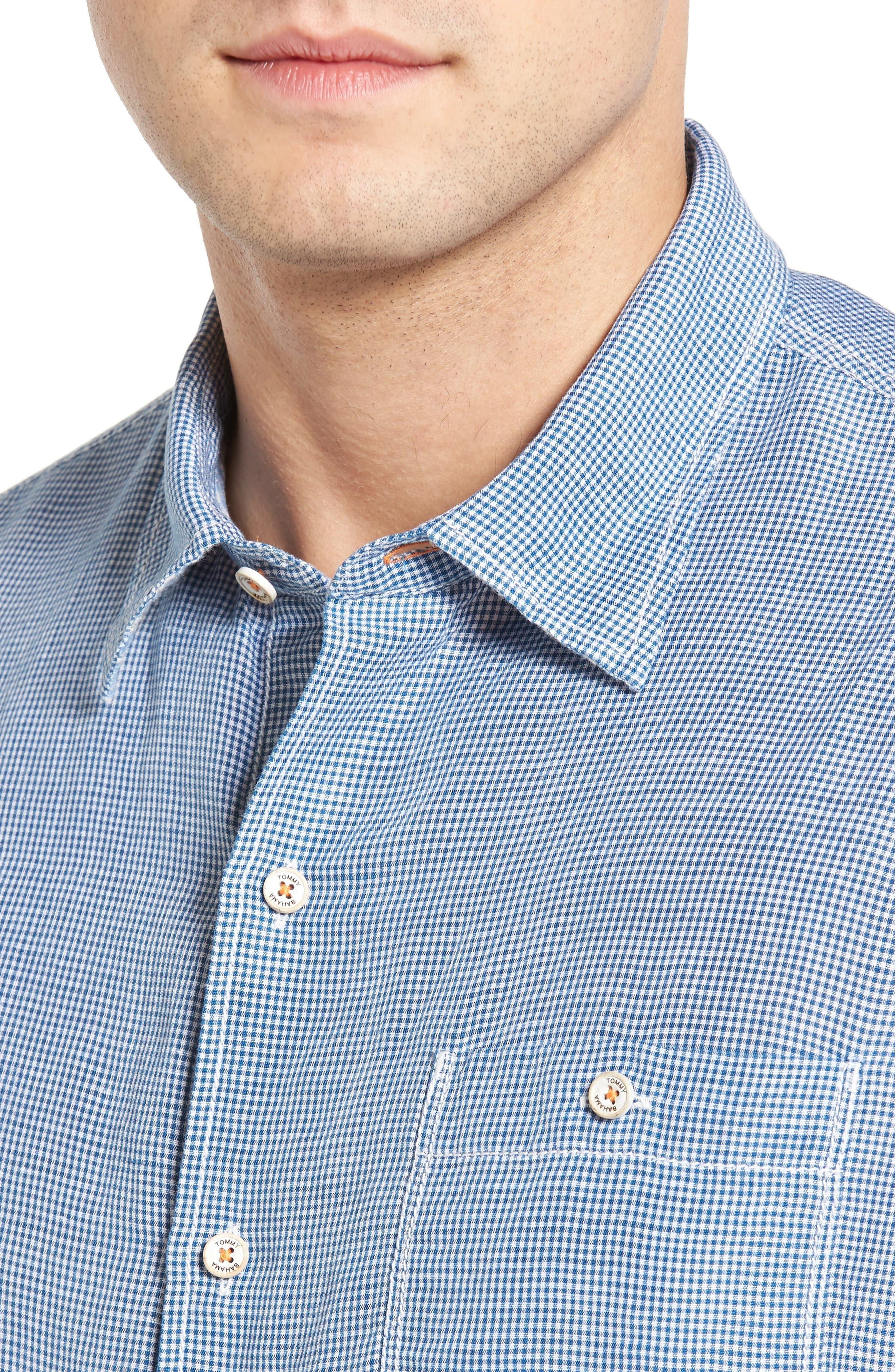 Alternate Image 4  - Tommy Bahama Sand Linen Island Modern Fit Sport Shirt