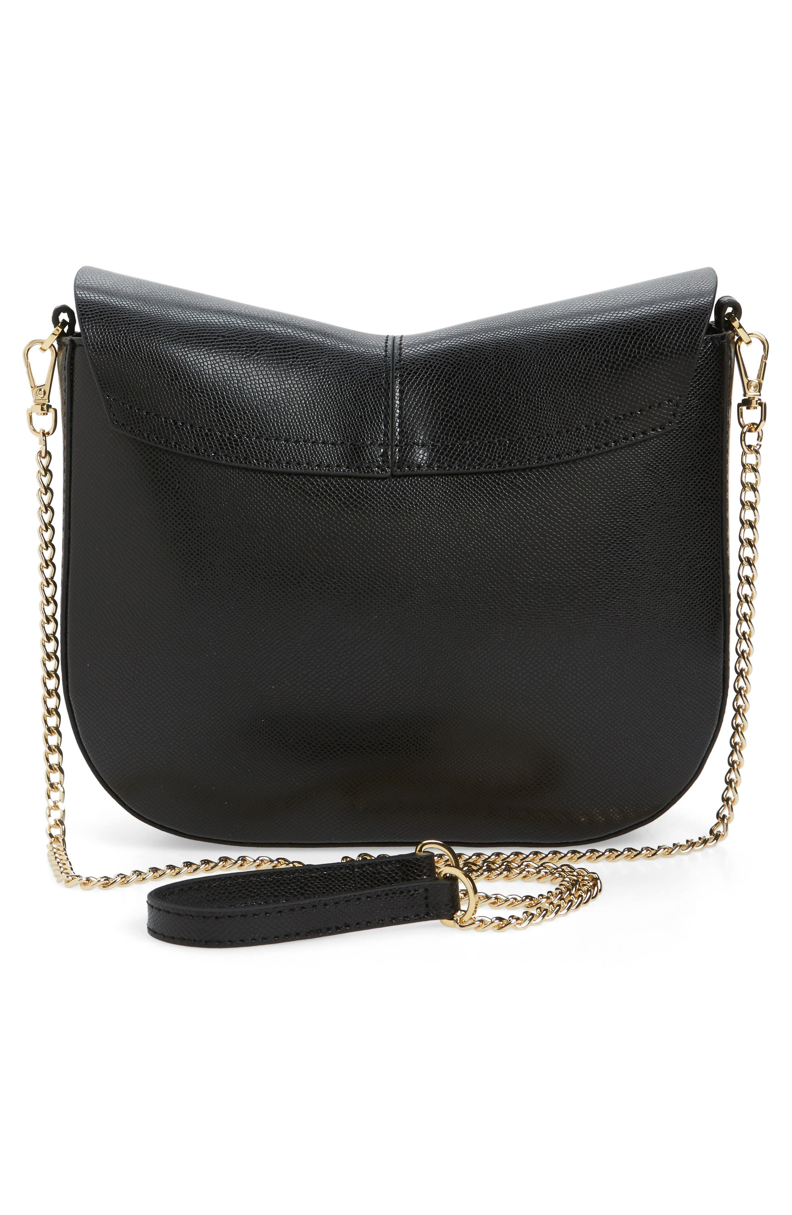 Alternate Image 3  - Ted Baker London Cat Leather Crossbody Bag