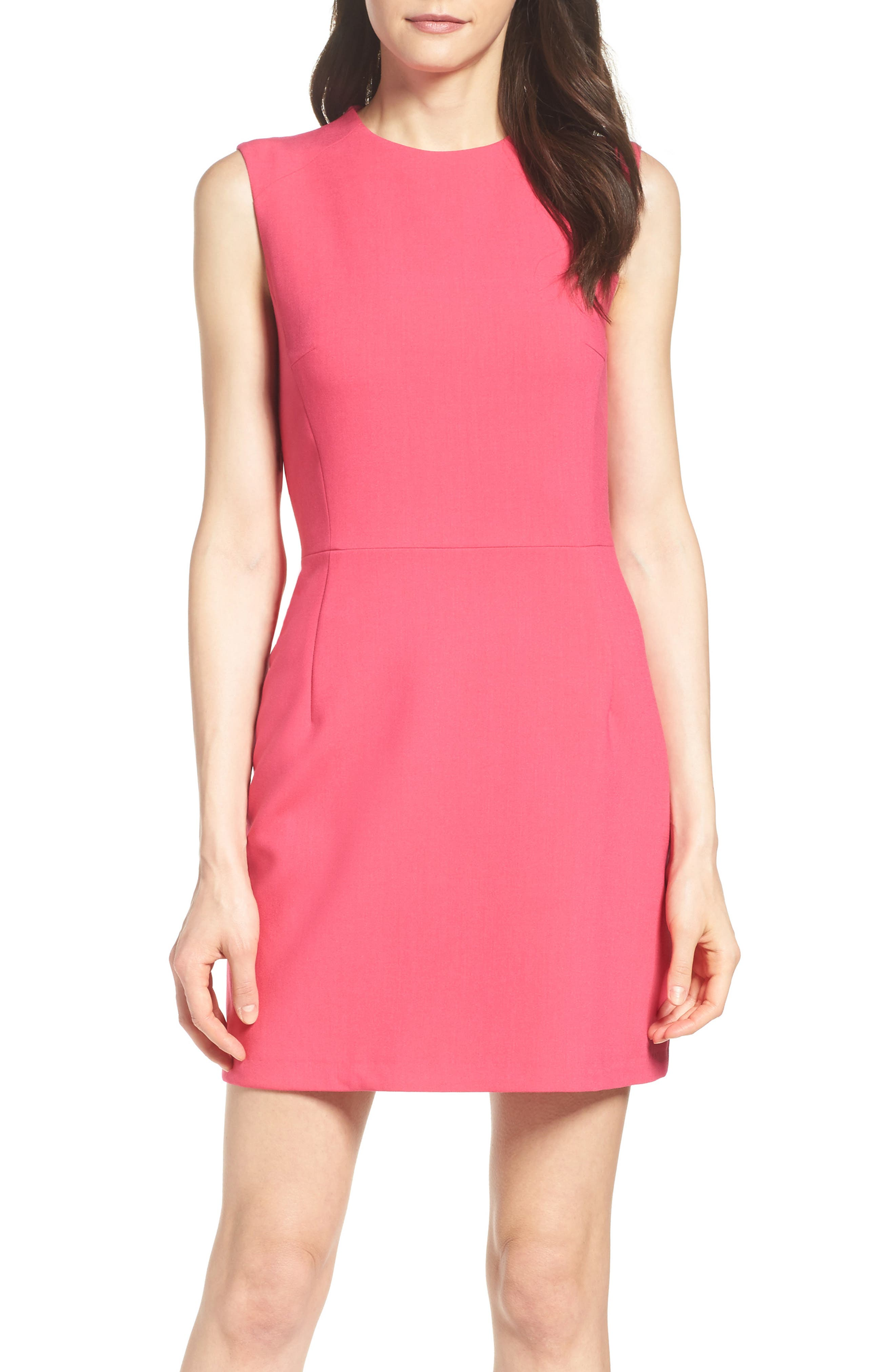 Pink dress cocktail