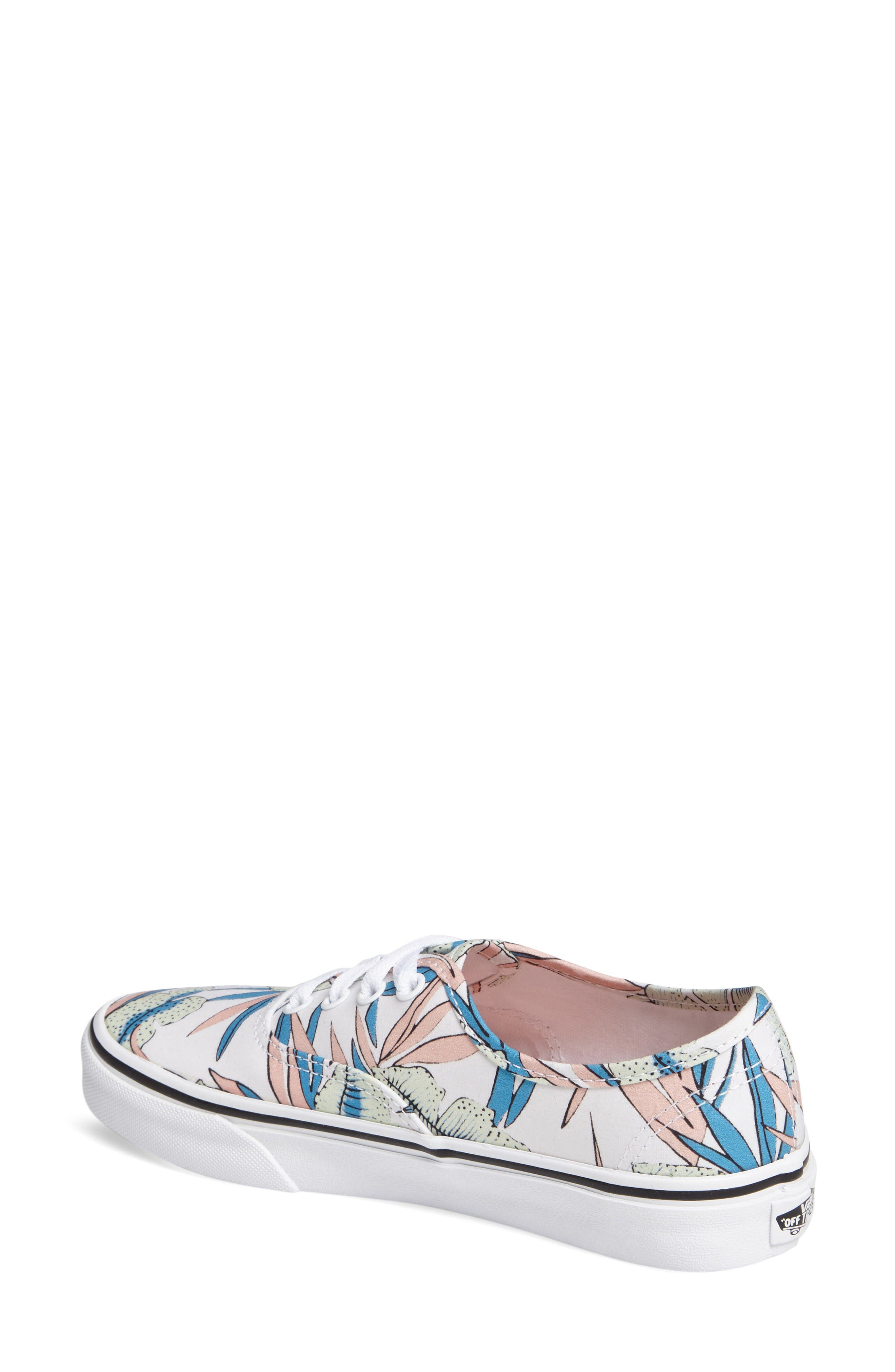 Alternate Image 2  - Vans 'Authentic' Canvas Sneaker (Women)