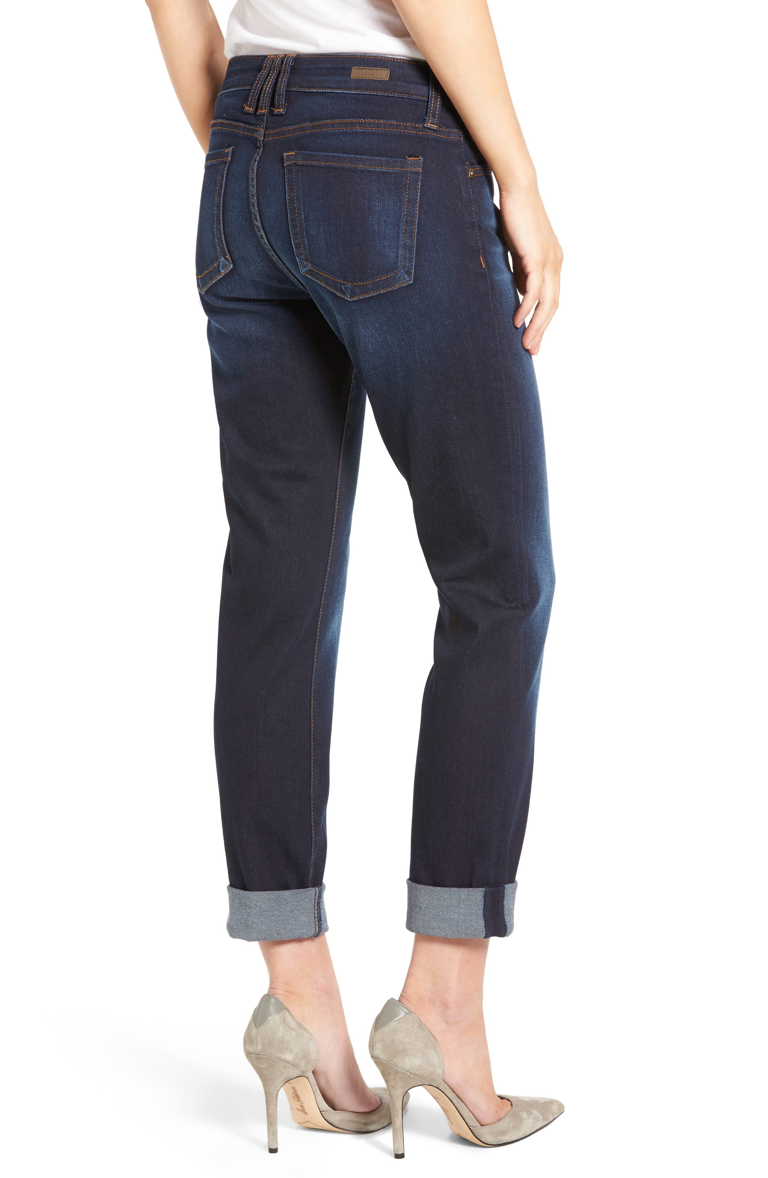 Alternate Image 2  - KUT from the Kloth Catherine Boyfriend Jeans (Adaptability)