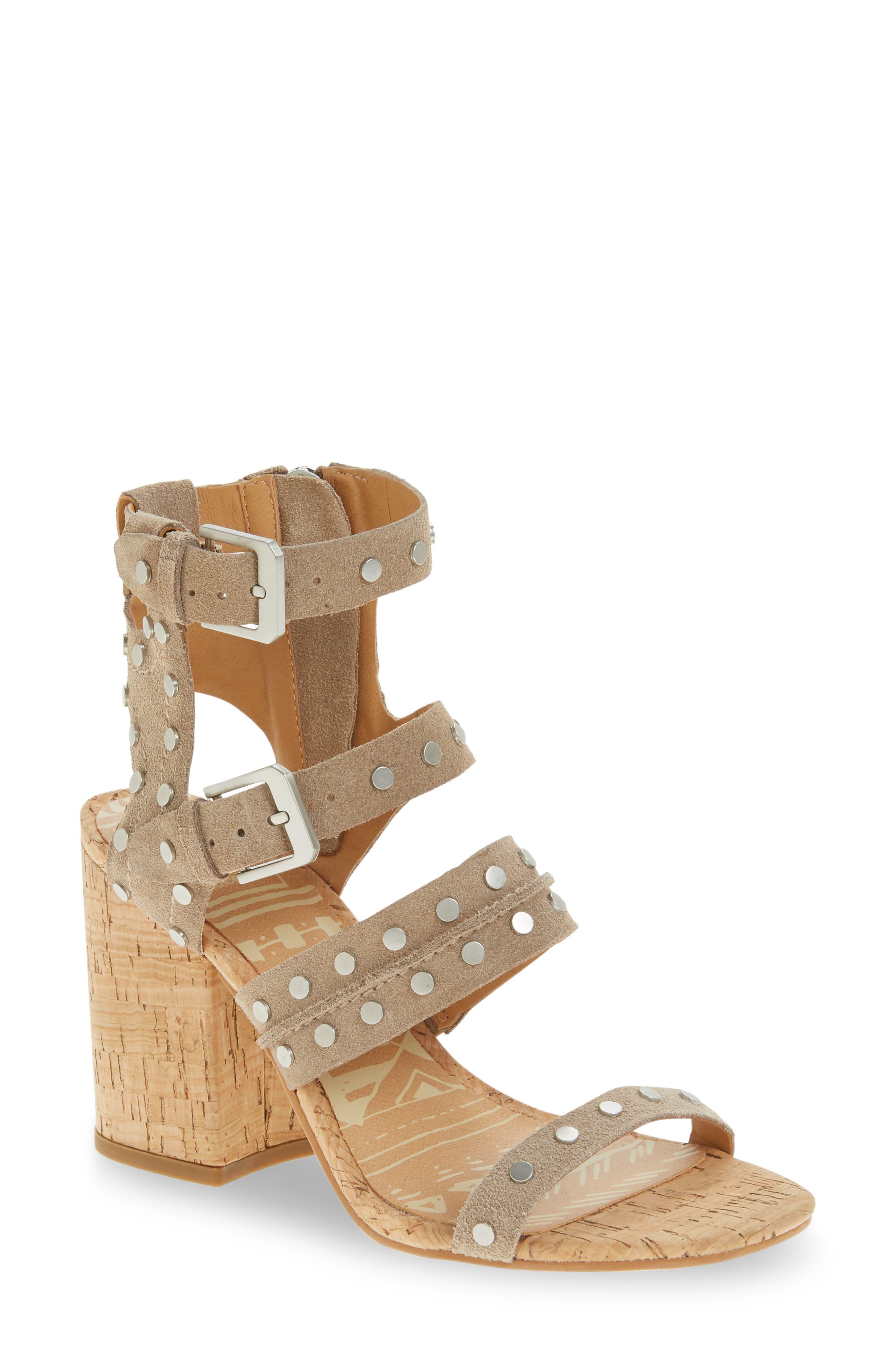 Alternate Image 1 Selected - Dolce Vita Effie Block Heel Sandal (Women)