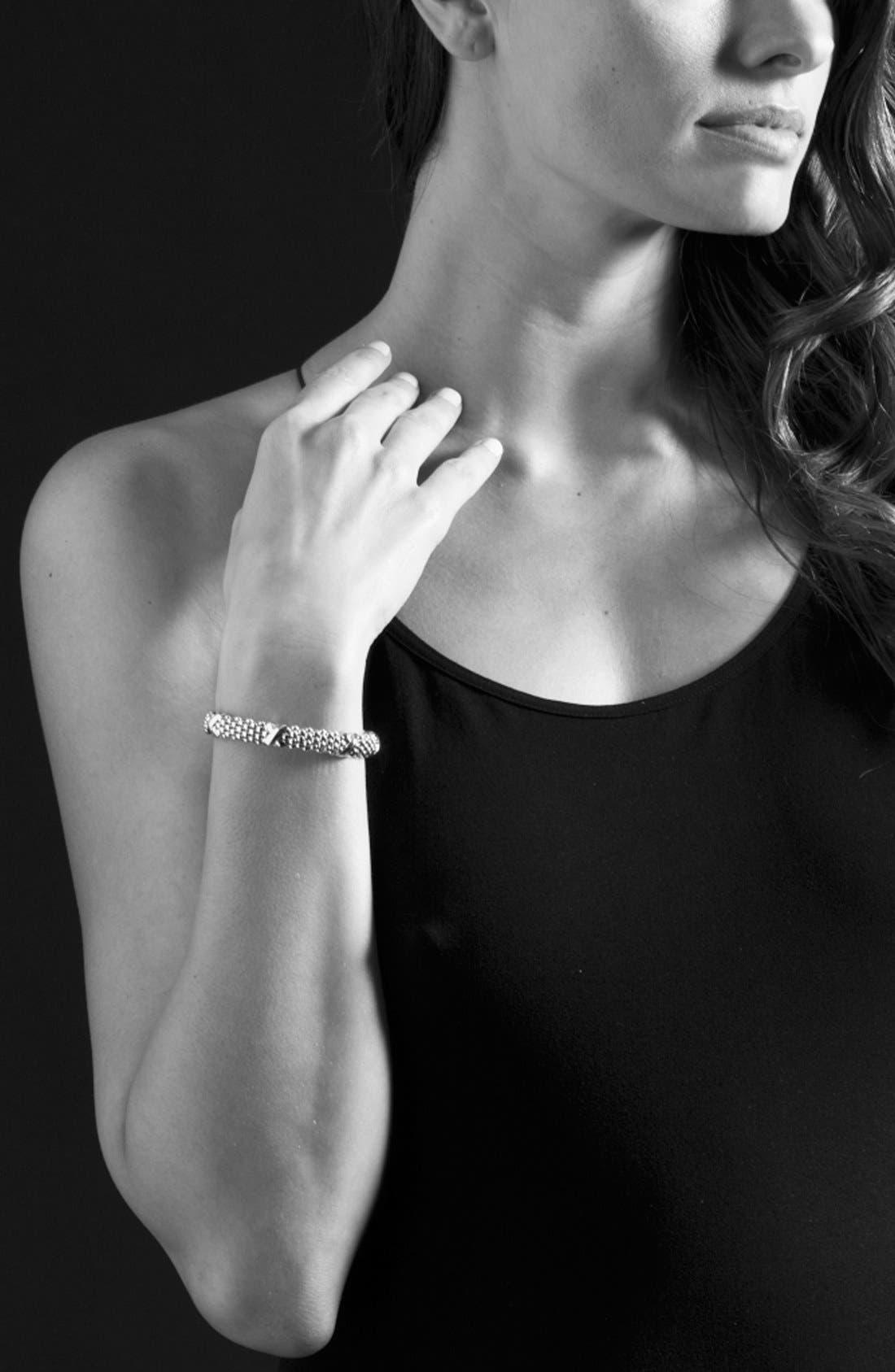 Alternate Image 2  - LAGOS 'X' Two-Tone Rope Bracelet