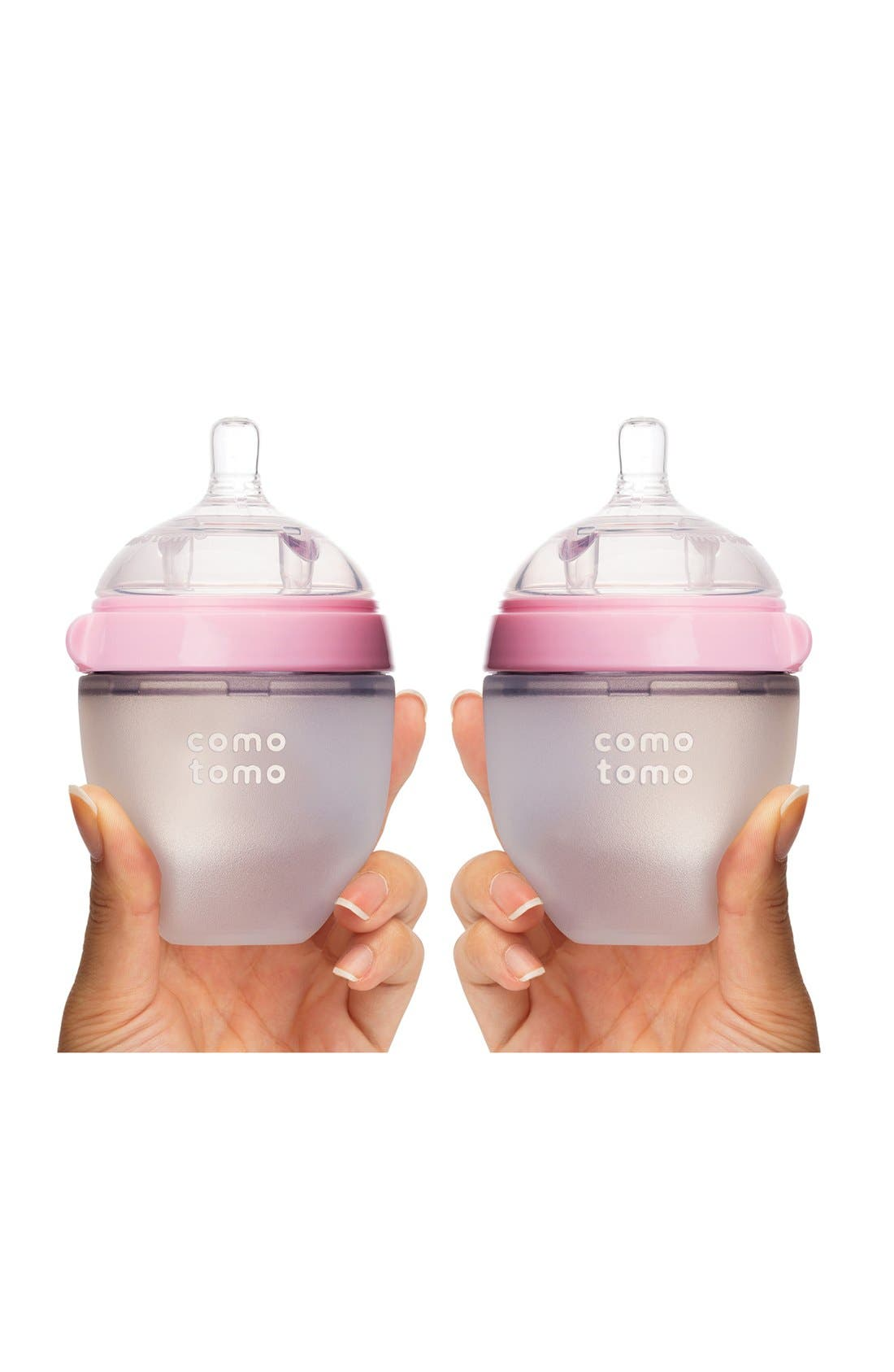 Baby Slow Flow Bottles,                             Alternate thumbnail 2, color,                             Pink
