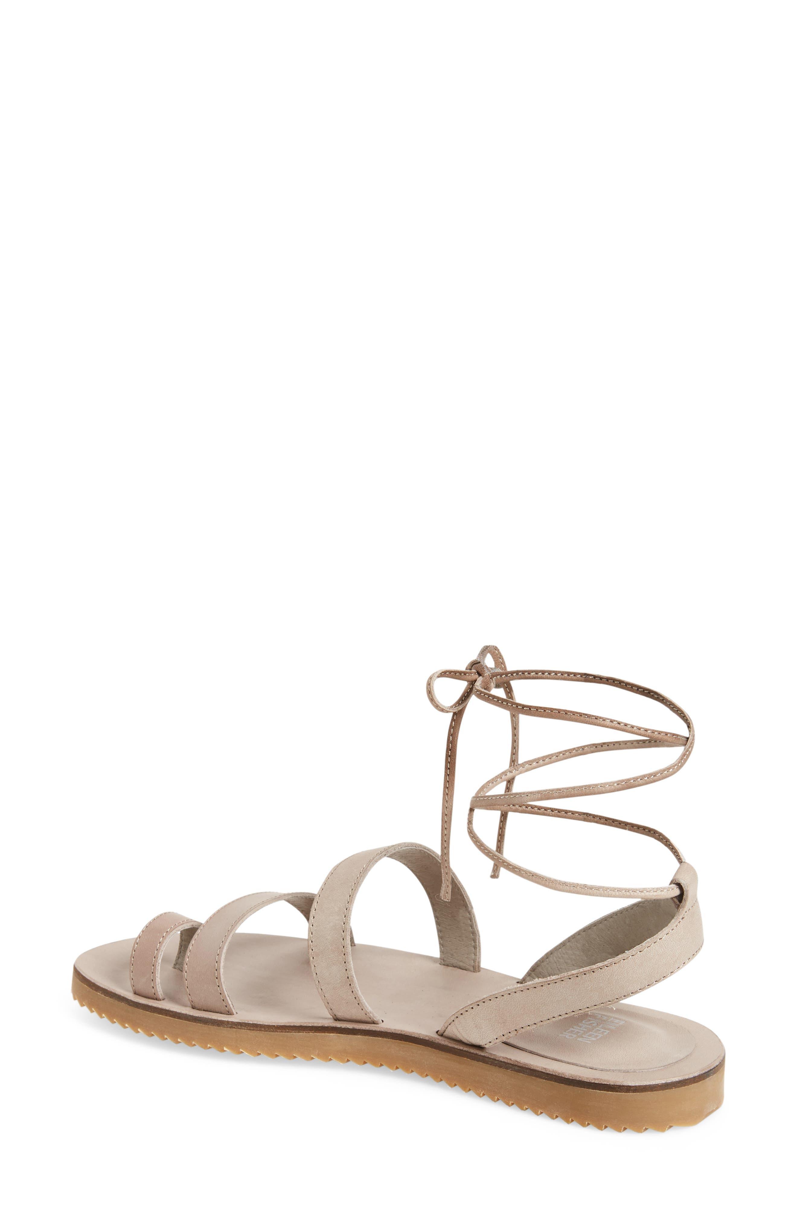 Alternate Image 2  - Eileen Fisher Wales Lace-Up Sandal (Women)