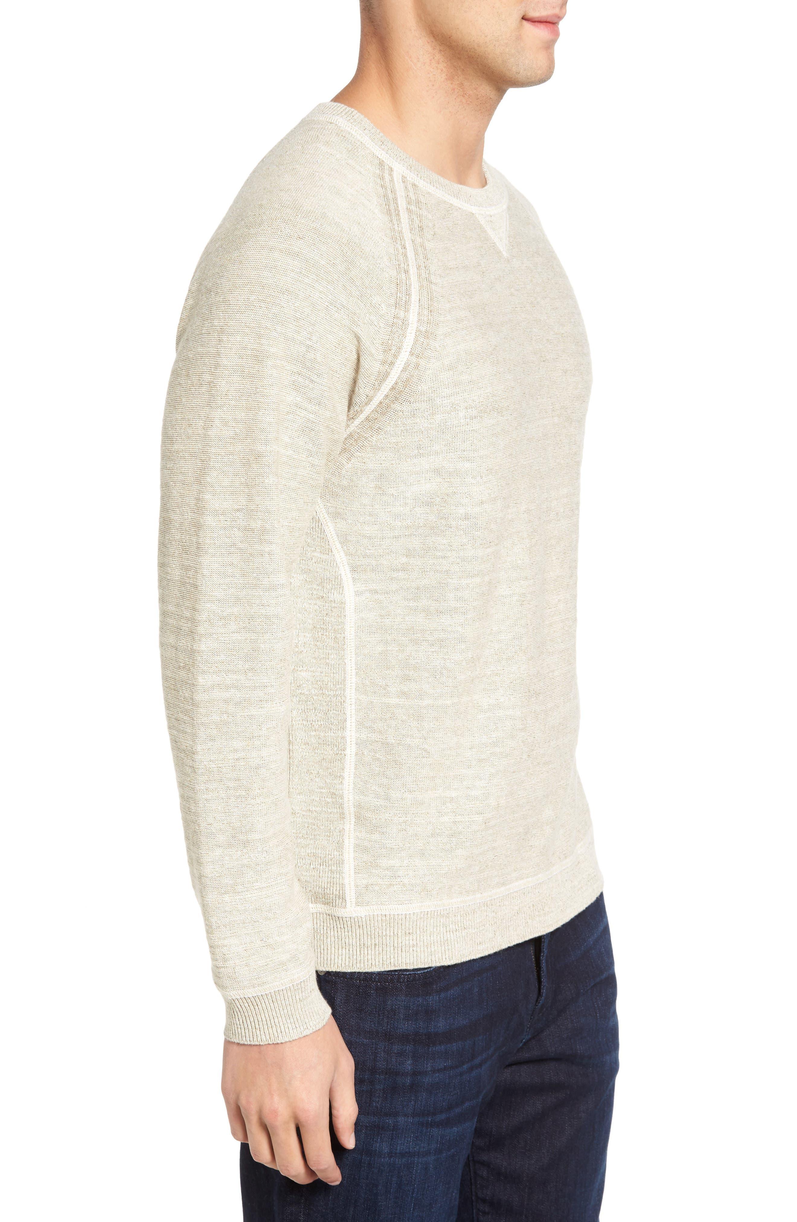 Alternate Image 3  - Tommy Bahama Sandy Bay Reversible Crewneck Sweater