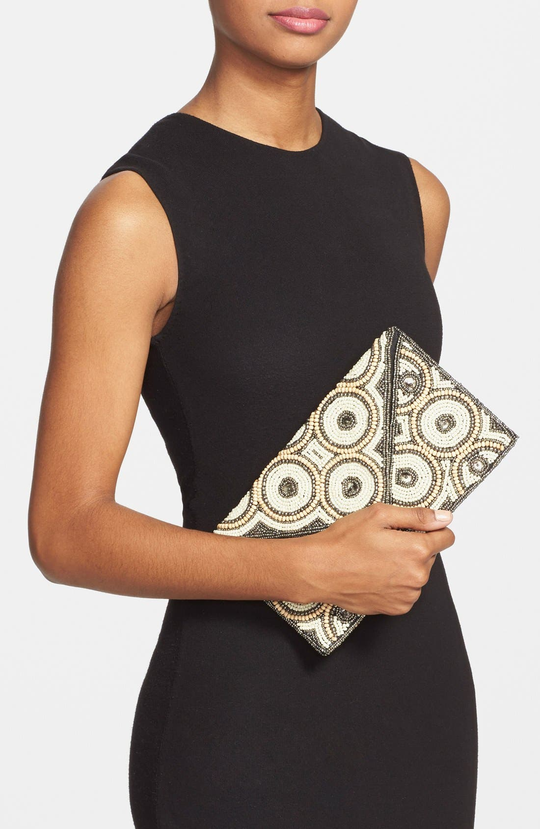 Alternate Image 2  - Natasha Couture Beaded Clutch