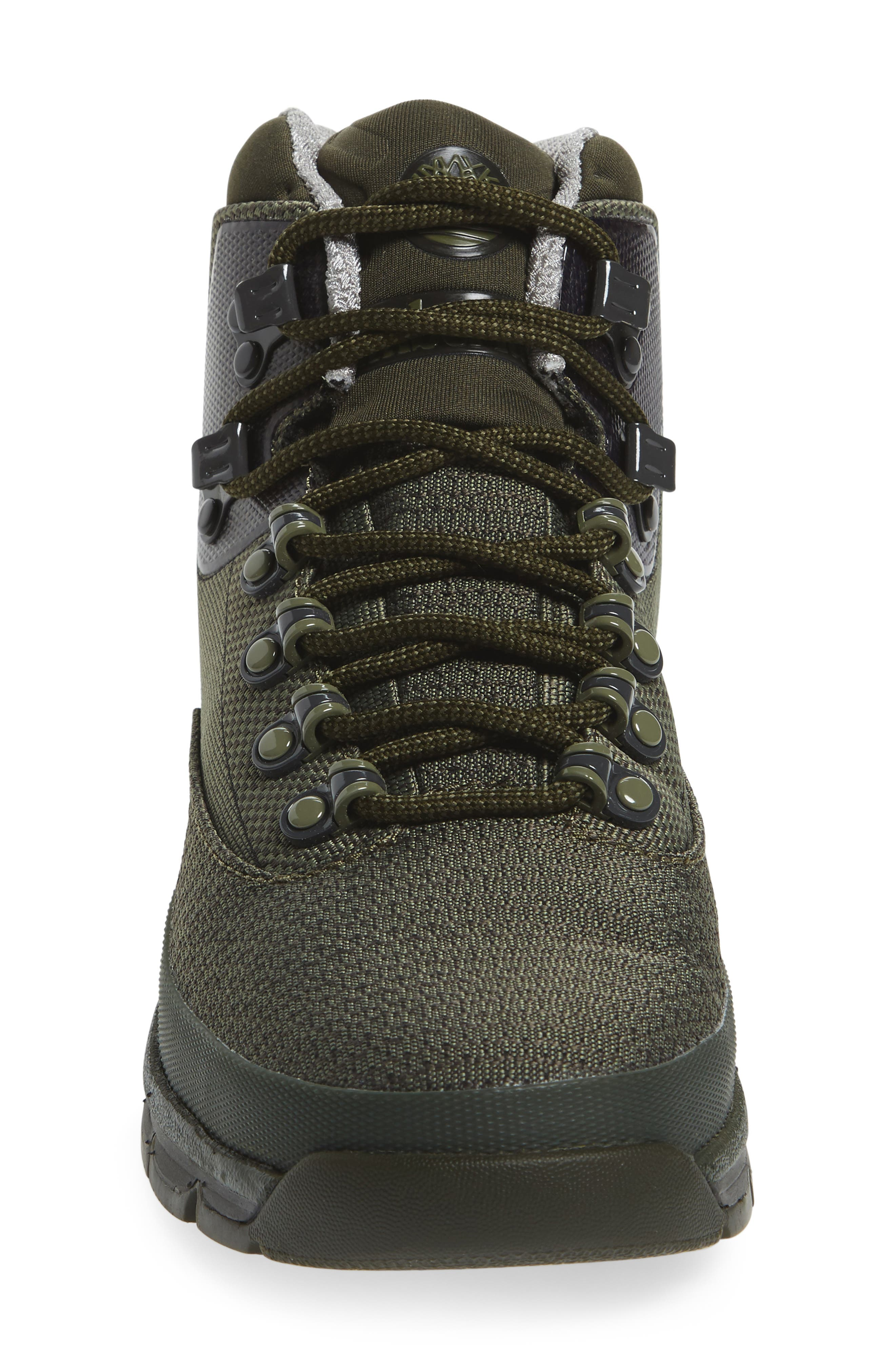 Euro Hiker Boot,                             Alternate thumbnail 3, color,                             Forest Night