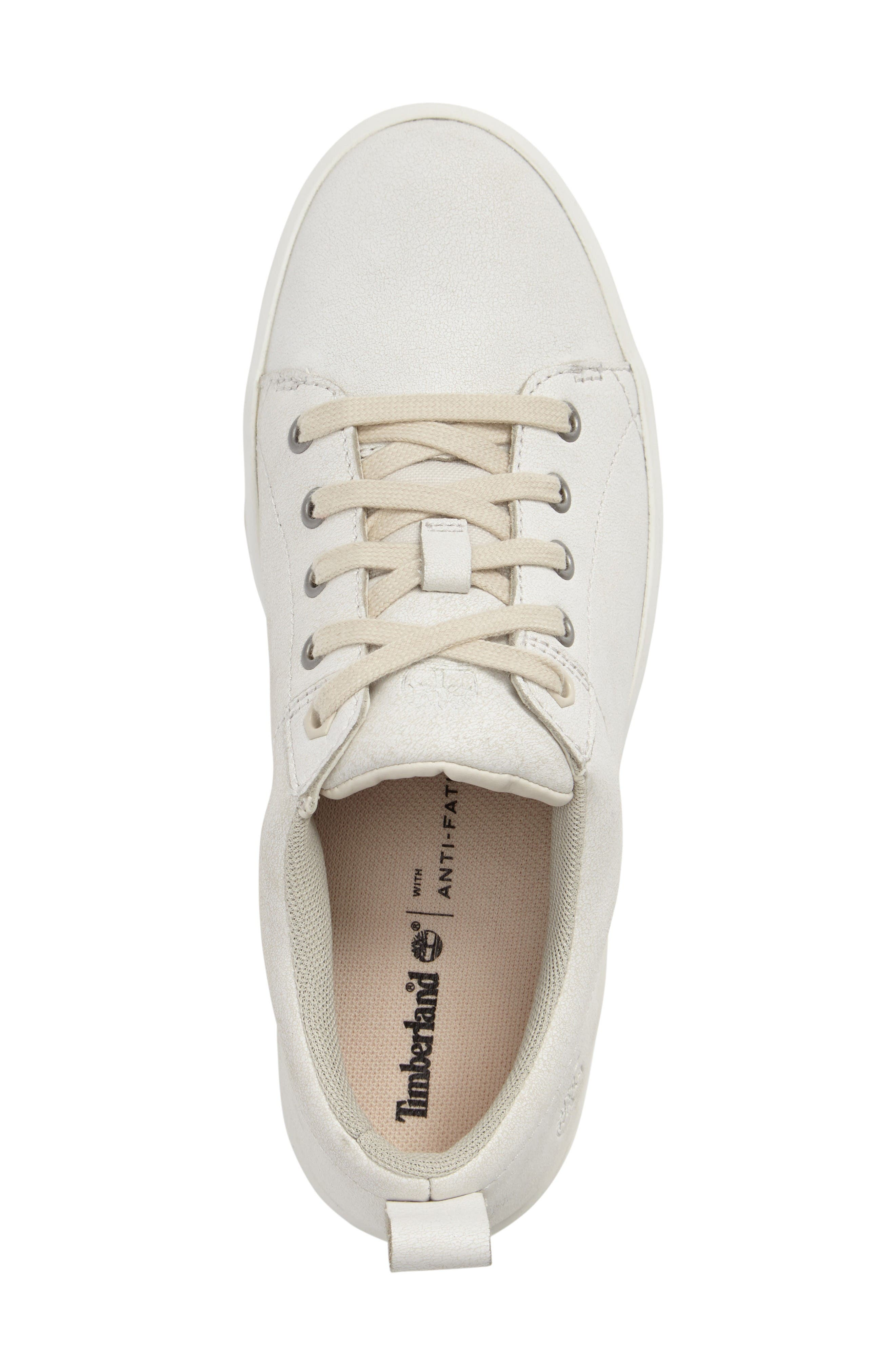 Mayliss Oxford Sneaker,                             Alternate thumbnail 3, color,                             White Mystic Snake Suede
